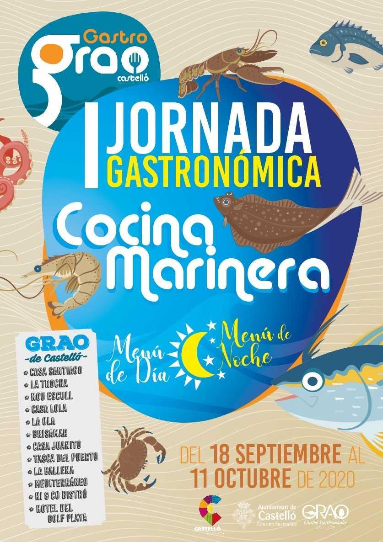 I Jornadas gastronómicas Cocina marinera 2020