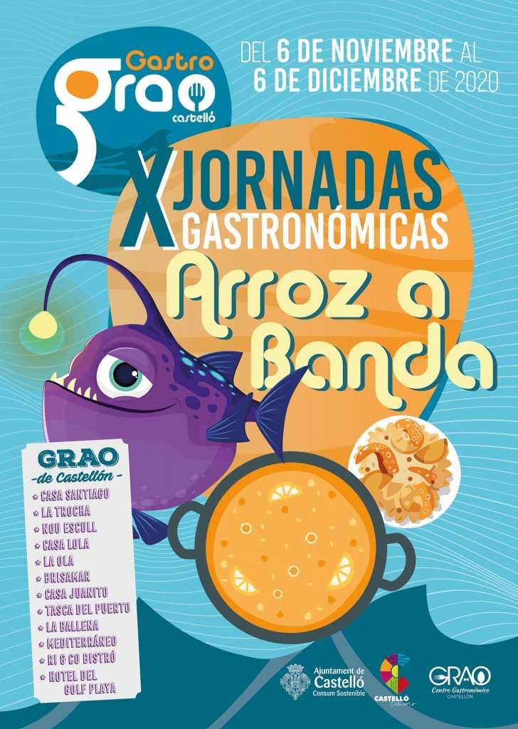 X JORNADAS GASTRONÓMICAS ARROZ A BANDA DEL GRAU DE CASTELLÓ
