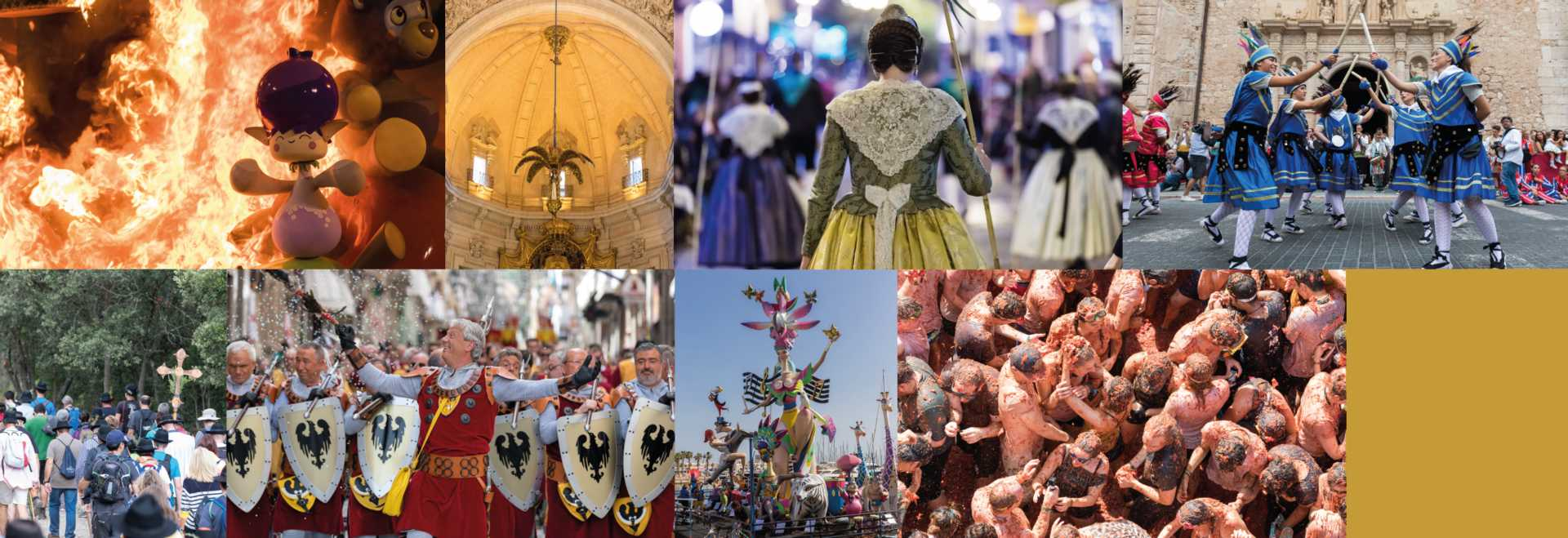 Half year of the Moors and Christians Festival
