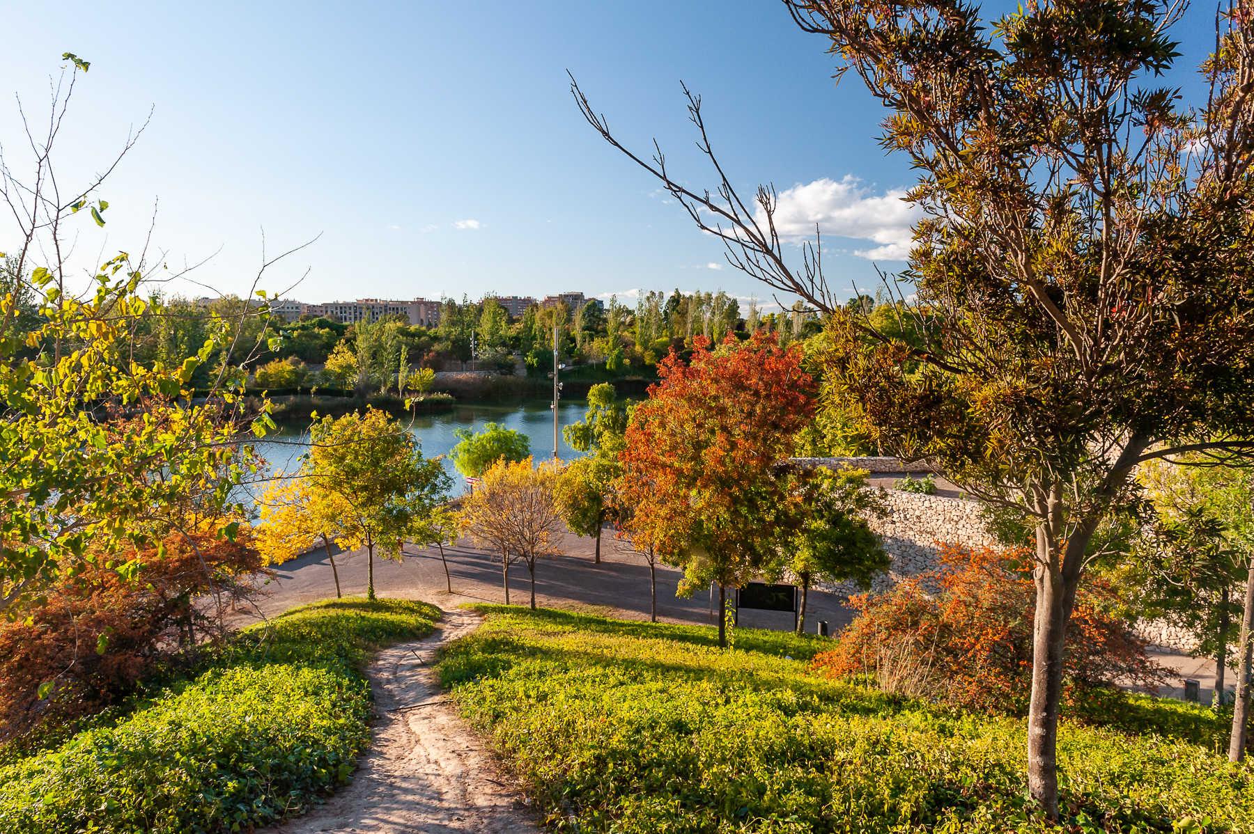 Der Park de Cabecera