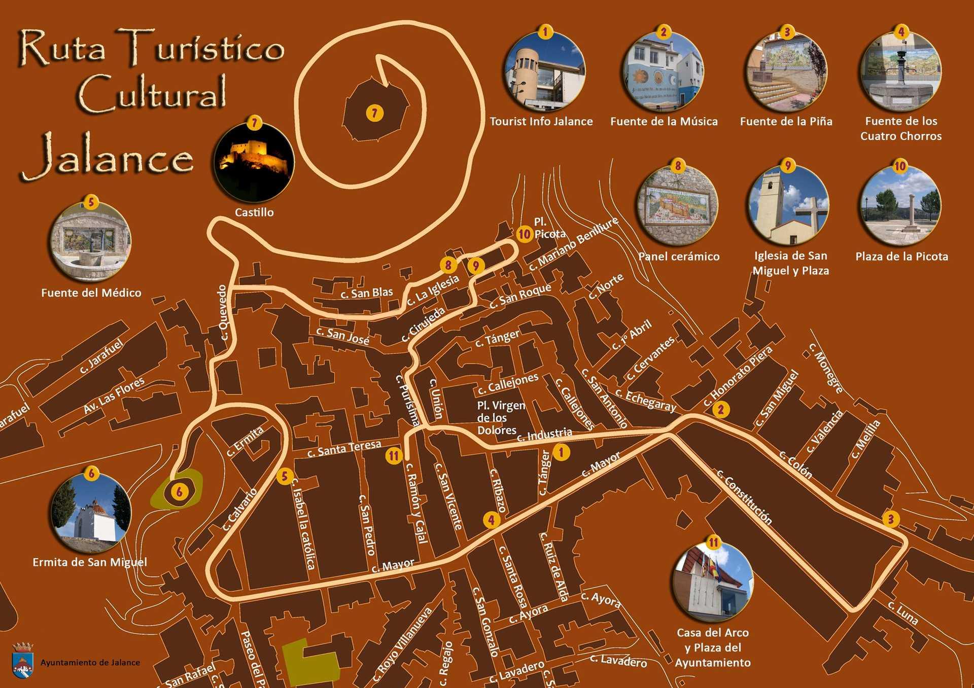 Ruta turístico-cultural Jalance
