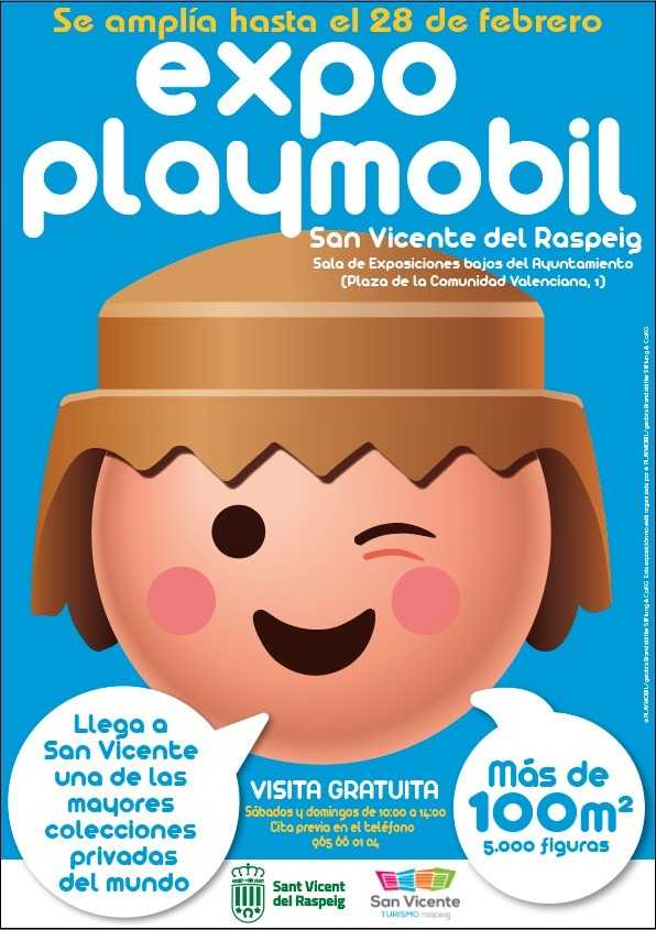 Playmobil Exhibition in San Vicente del Raspeig