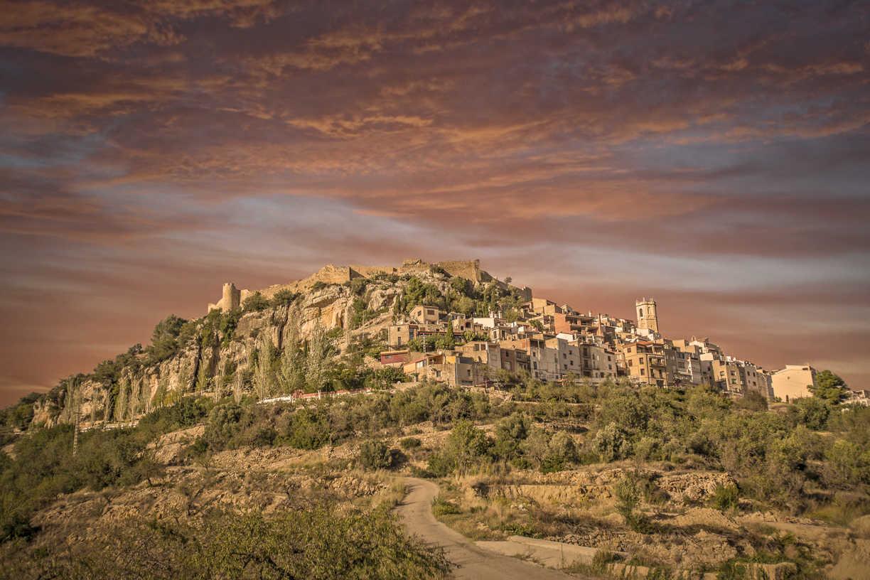 Castillo-fortaleza de Cervera del Maestre