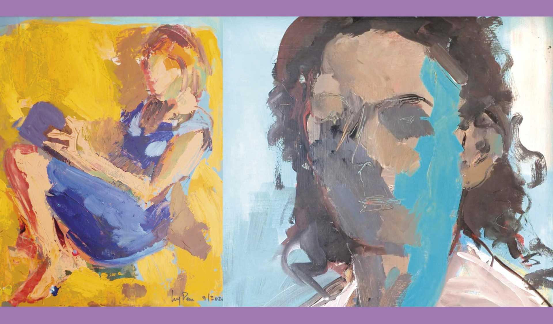 Exposition de peinture Luz Parra Els Poblets