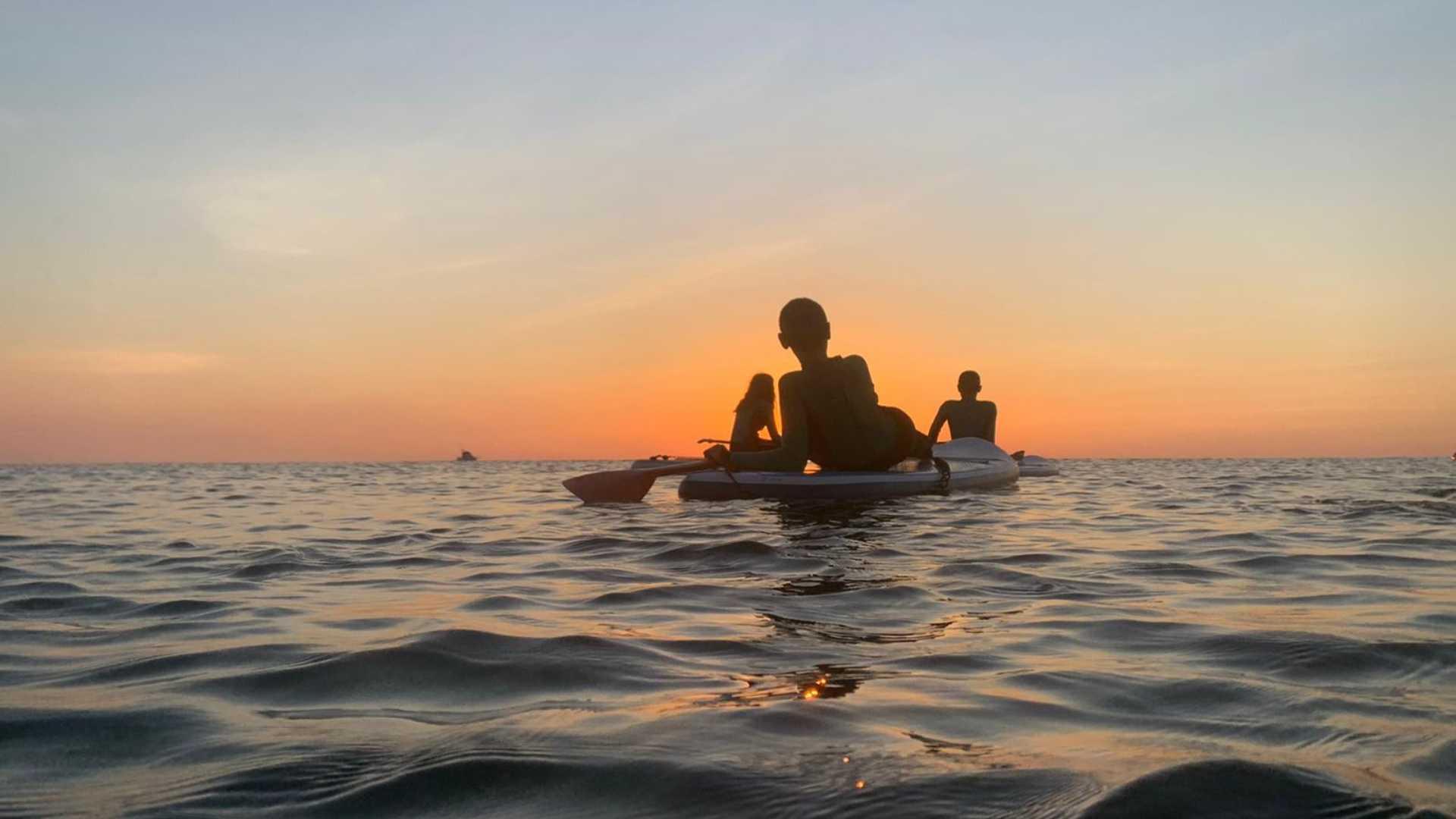 Amanecer en Paddle Surf