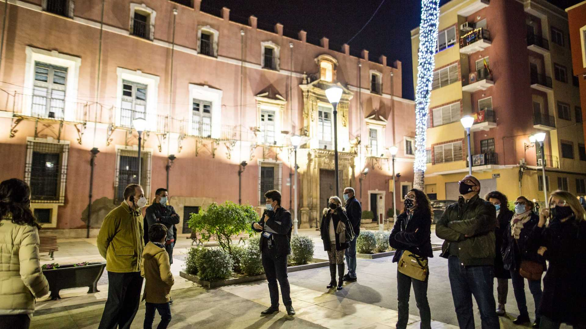 Night tours: Orihuela