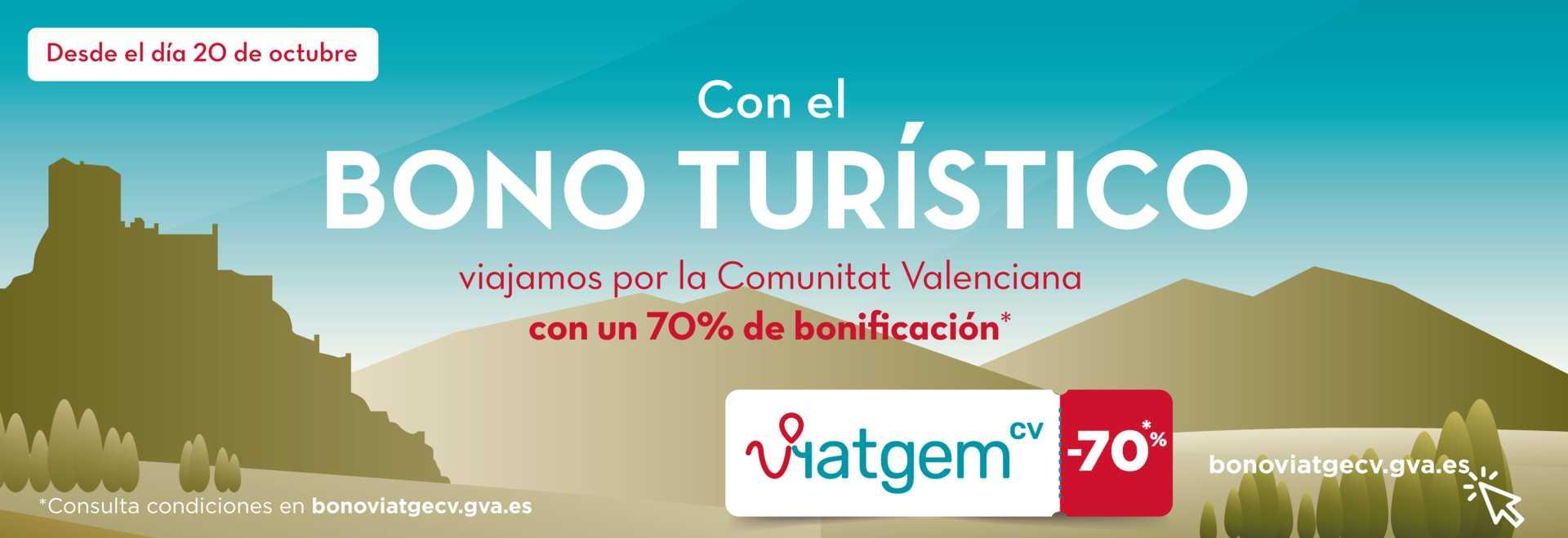 Bono Turístico de la Comunitat Valenciana