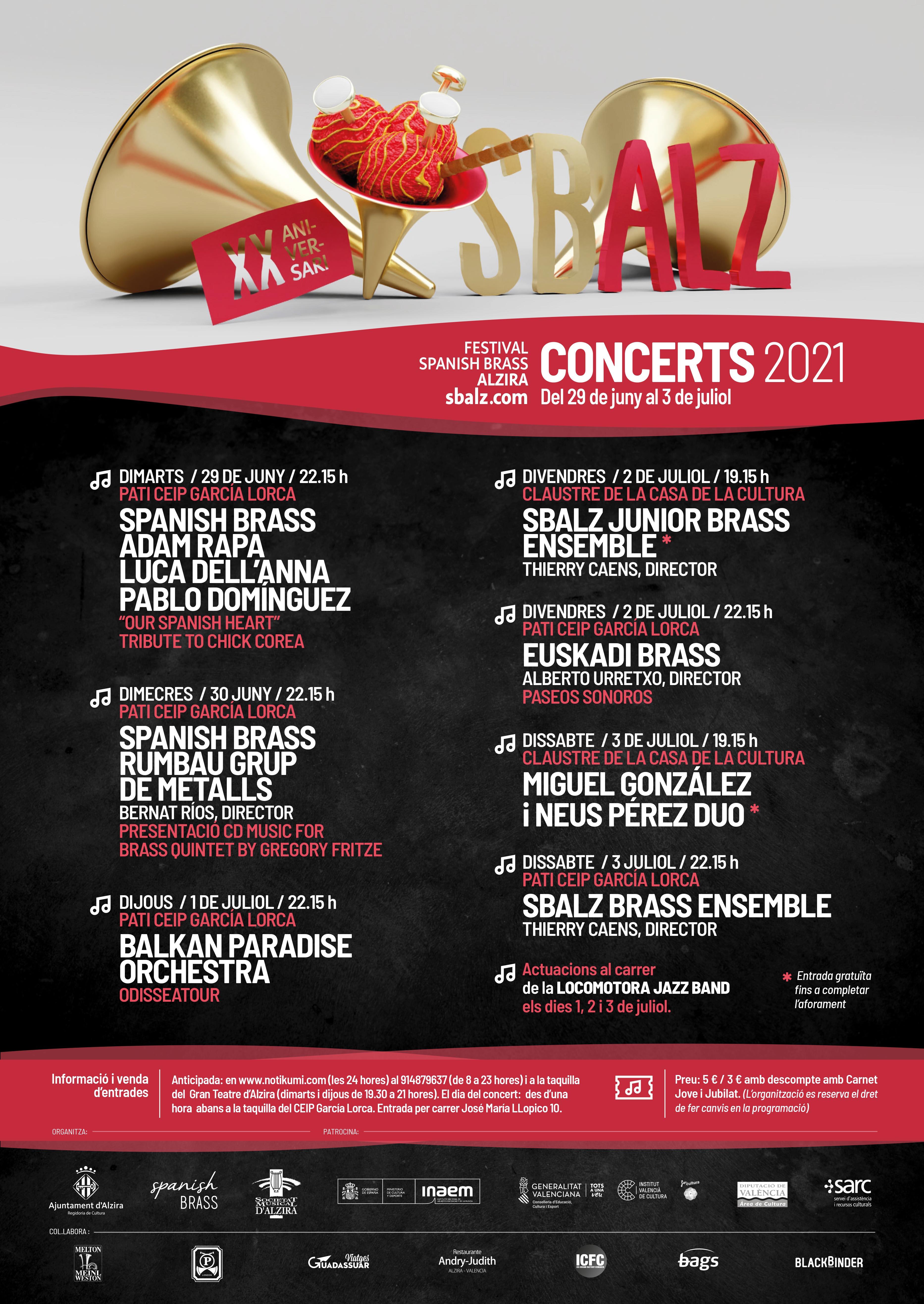 Festival Spanish Brass Alzira 2021