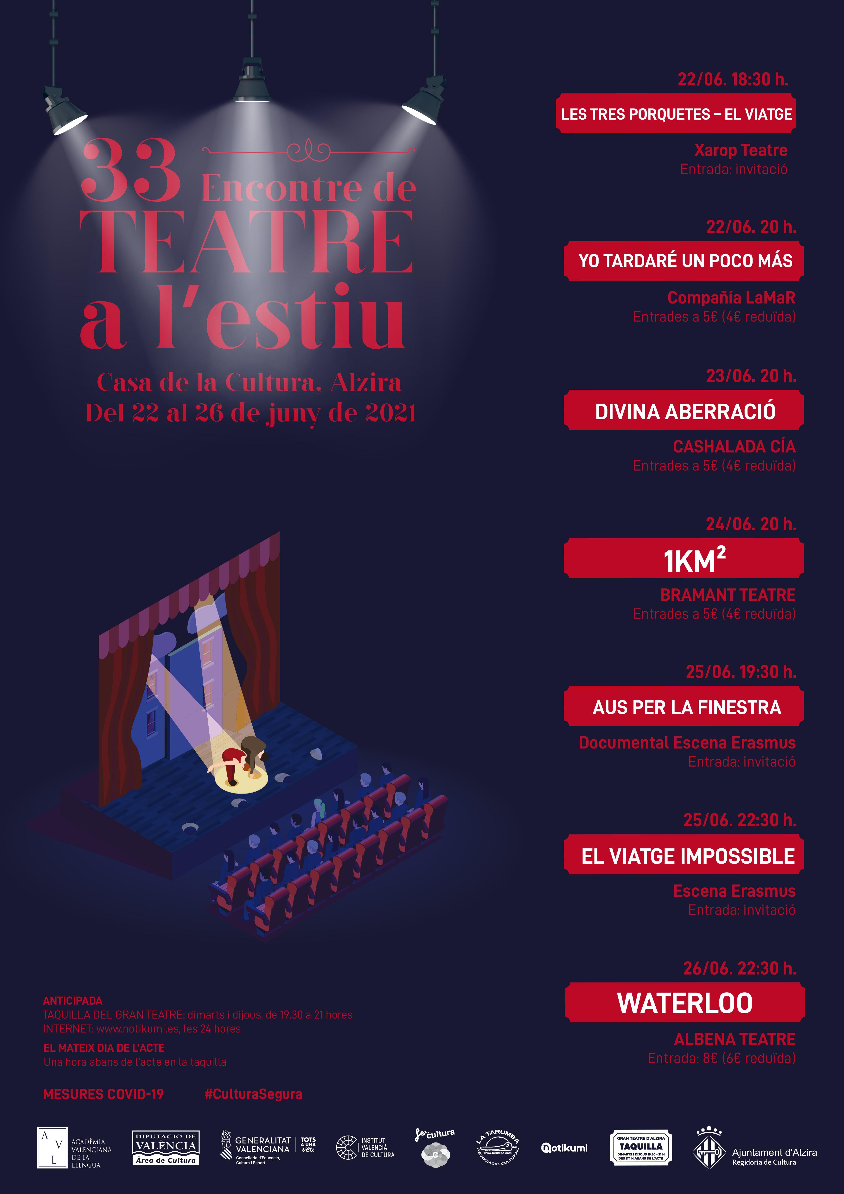 33 Encontre de Teatre a l'Estiu