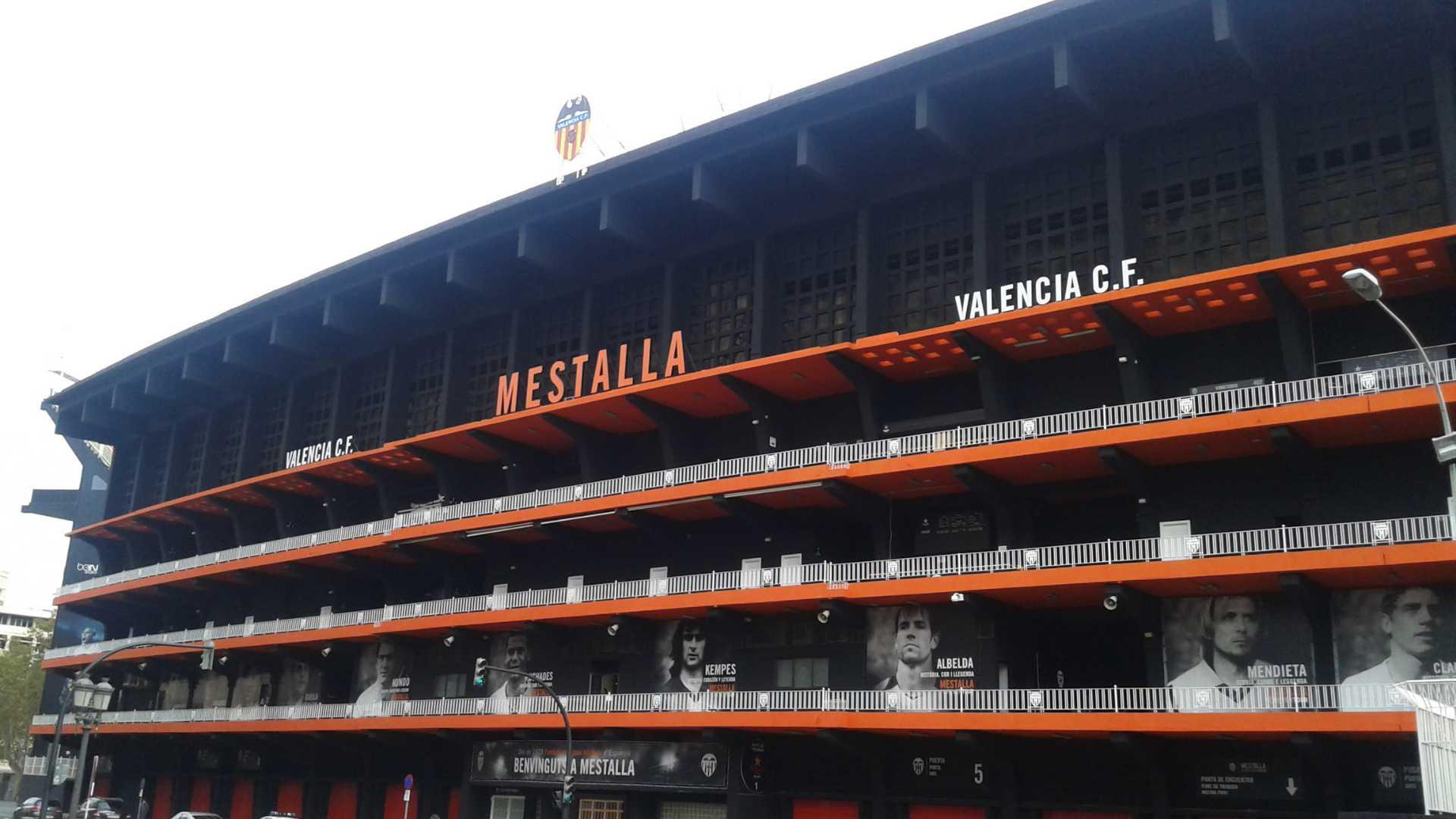 La Valencia futbolera