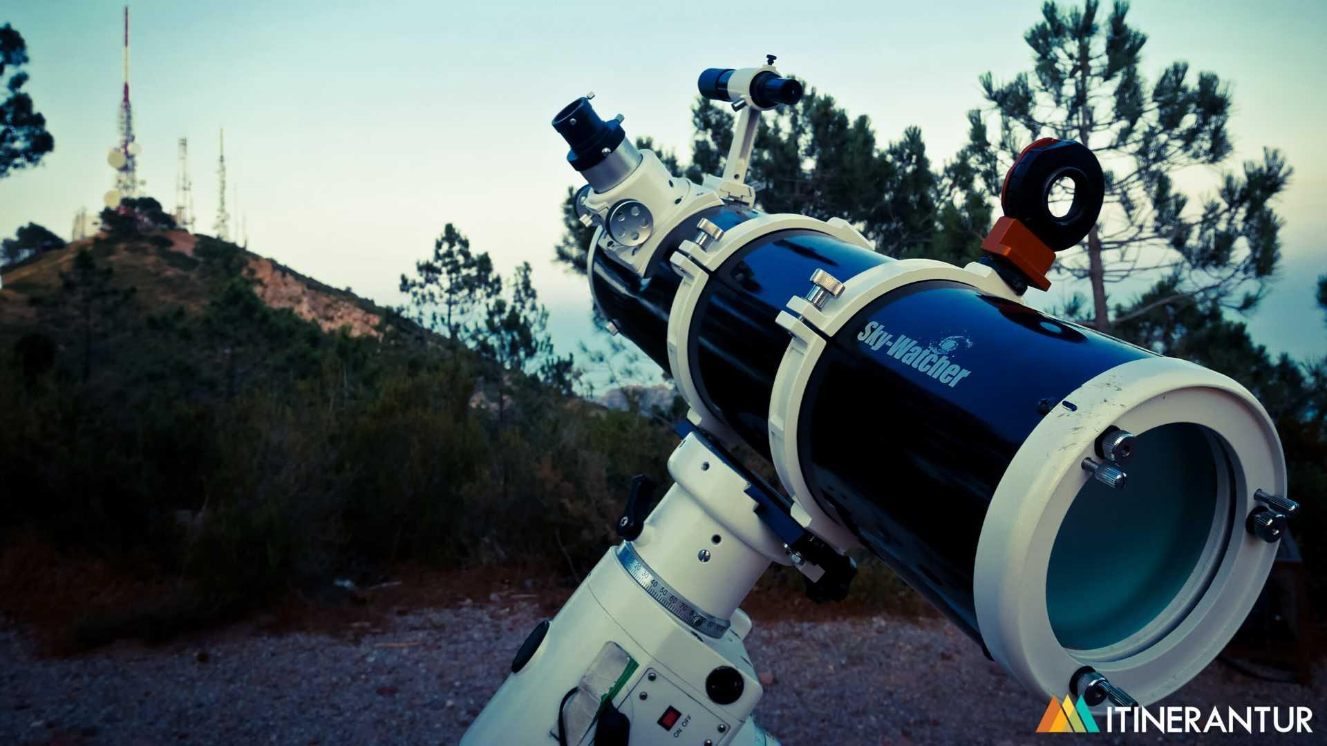Astroturismo en el Desert de les Palmes
