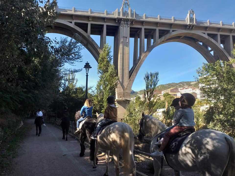 rutas ecuestres comunitat valenciana