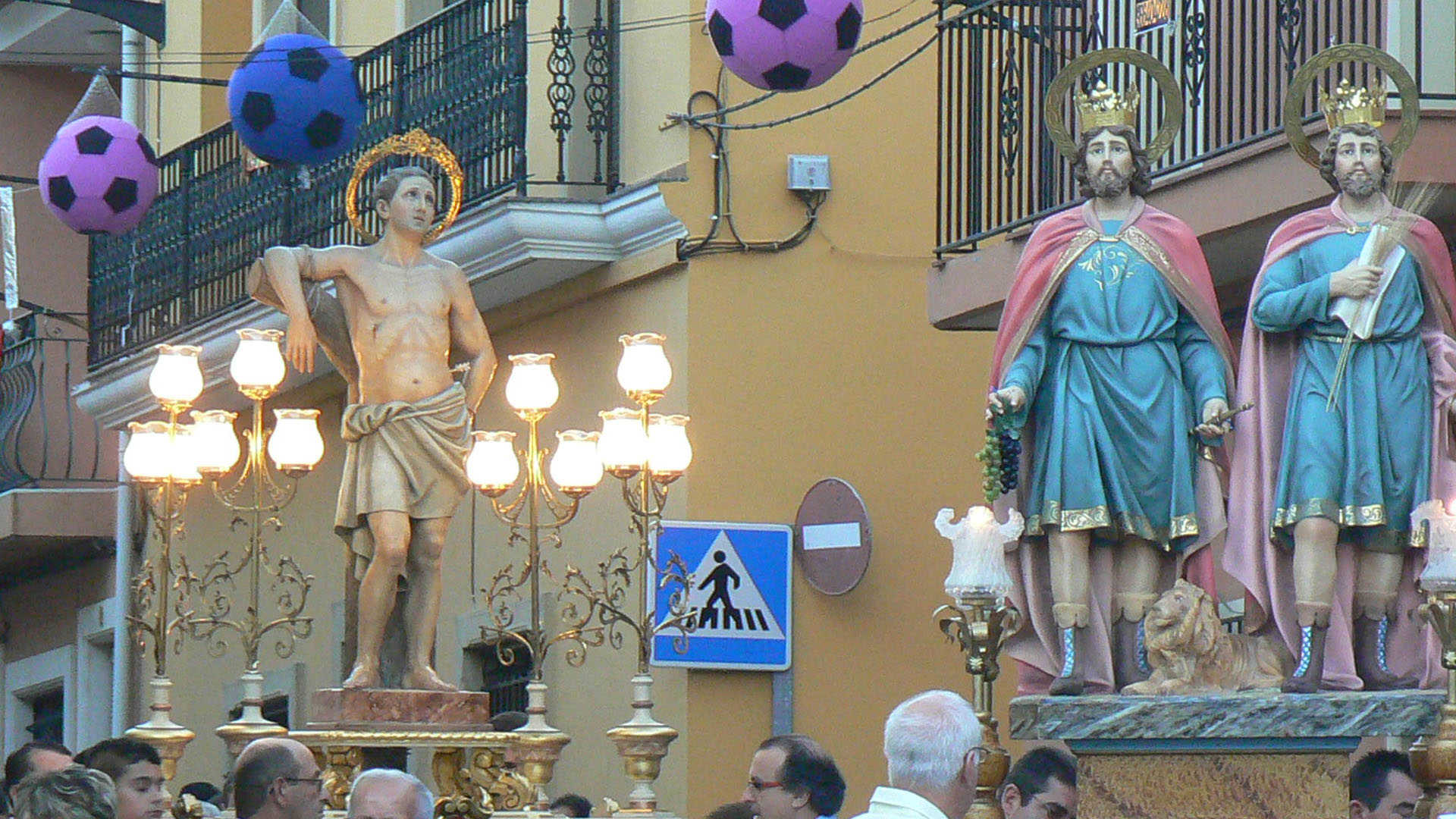 FESTIVITIES IN HONOUR OF SAN SEBASTIÁN, CRISTO DEL CONSUELO AND LA PURÍSIMA