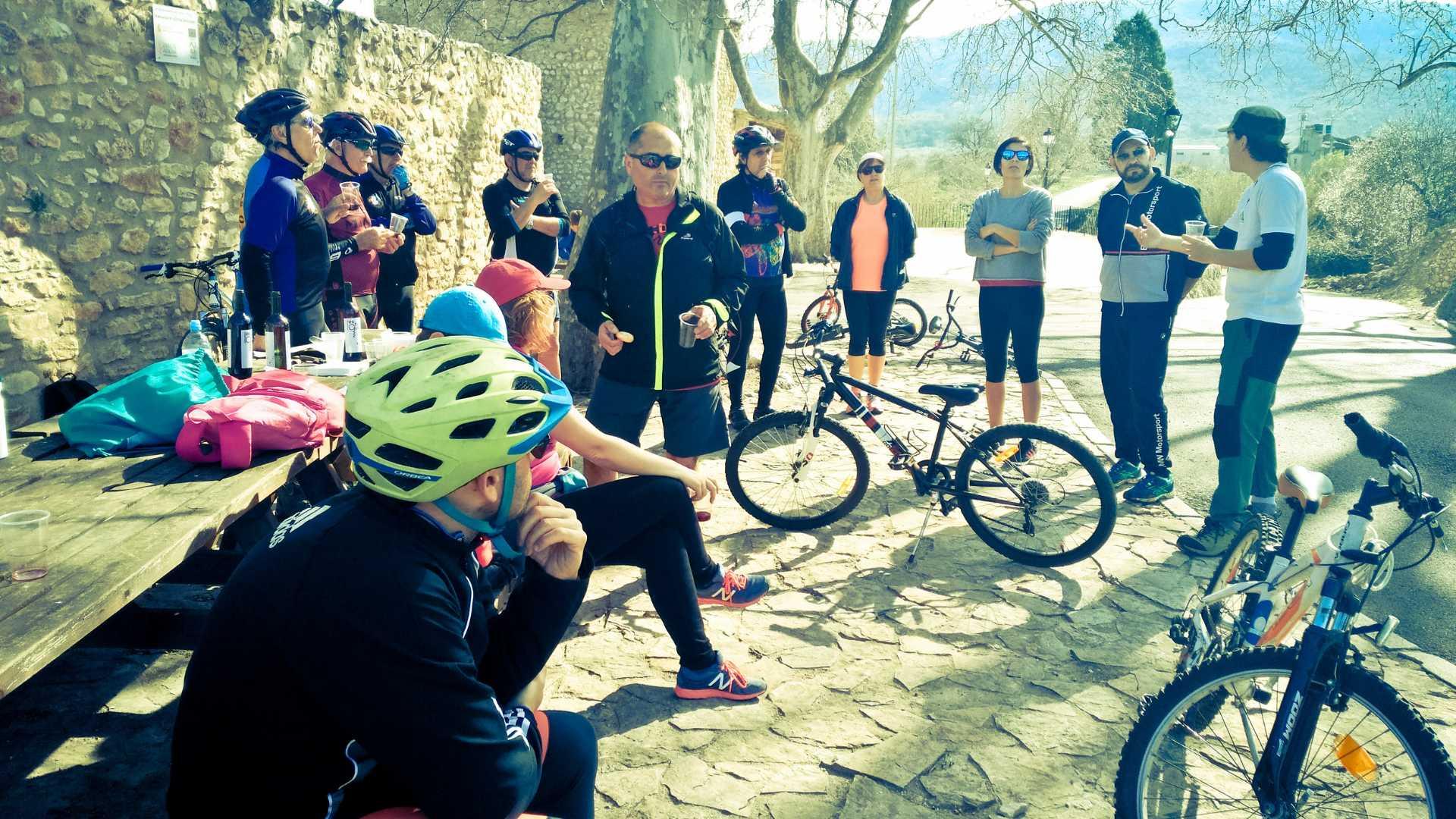 Los Olivos Milenarios del Maestrazgo en bici