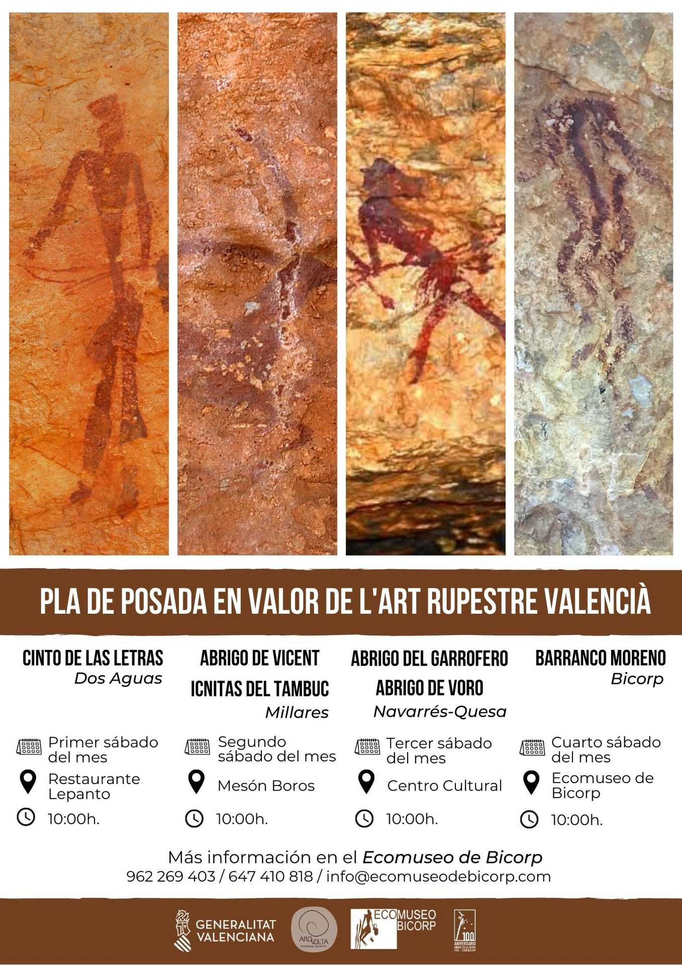 GUIDED TOURS OF CAVE ART IN MACIZO DEL CAROIG