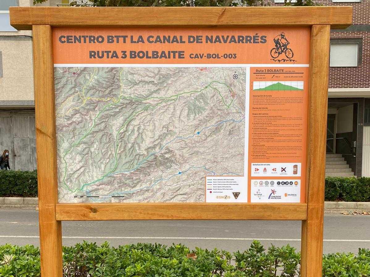 Centro BTT La Canal de Navarrés