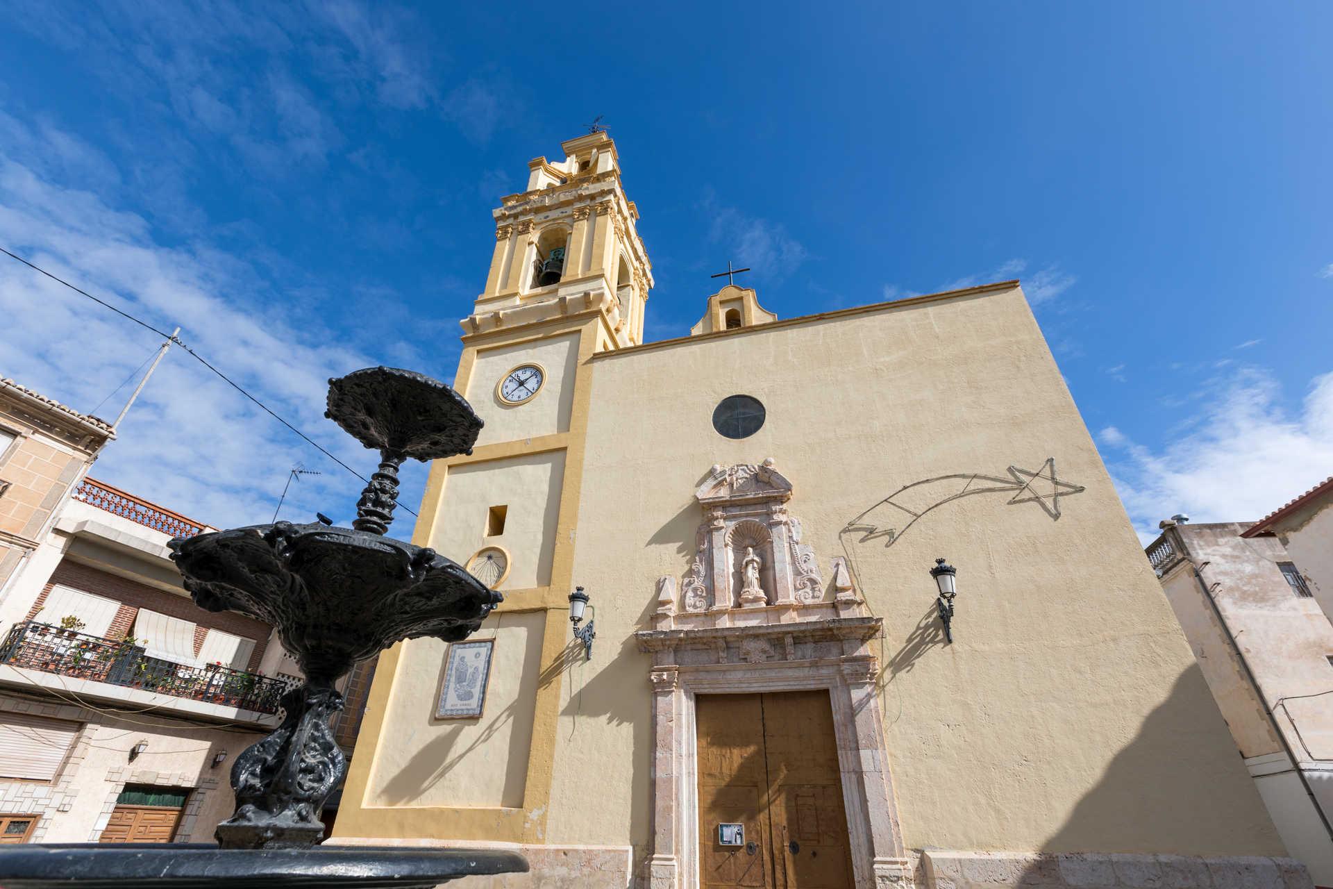 The church of La Puríssima