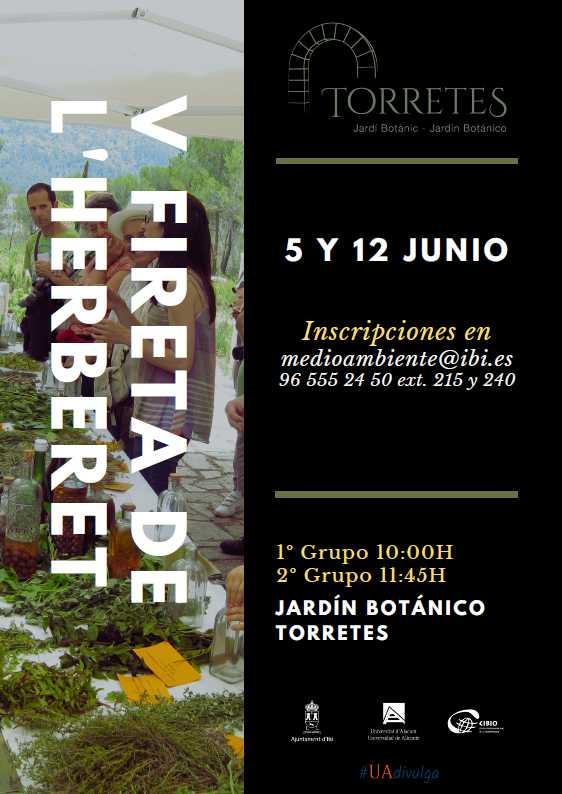 V FIRETA DEL HERBERT EN EL JARDÍN BOTÁNICO TORRETES