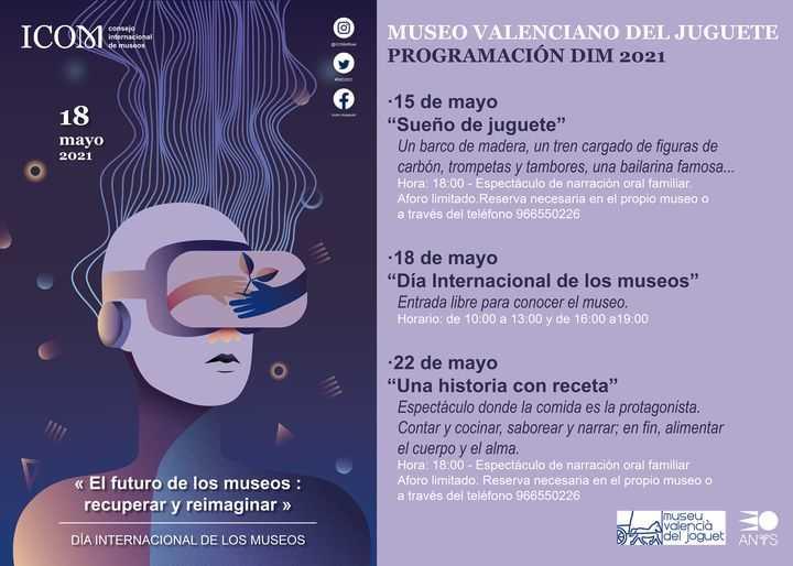 DÍA INTERNACIONAL DE LOS MUSEOS 2021 EN EL MUSEO VALENCIANO DEL JUGUETE- IBI-