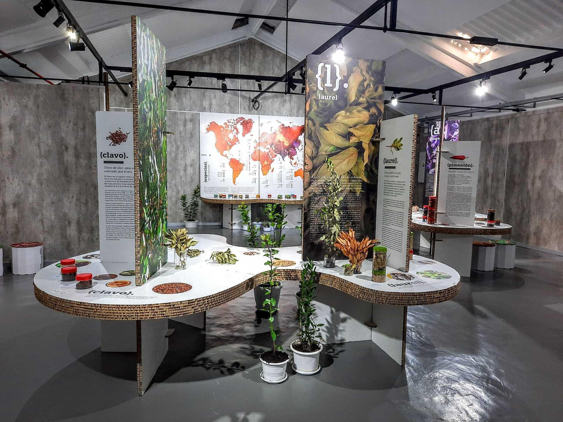 """Exposición temporal """"Especias. El Universo del sabor"""