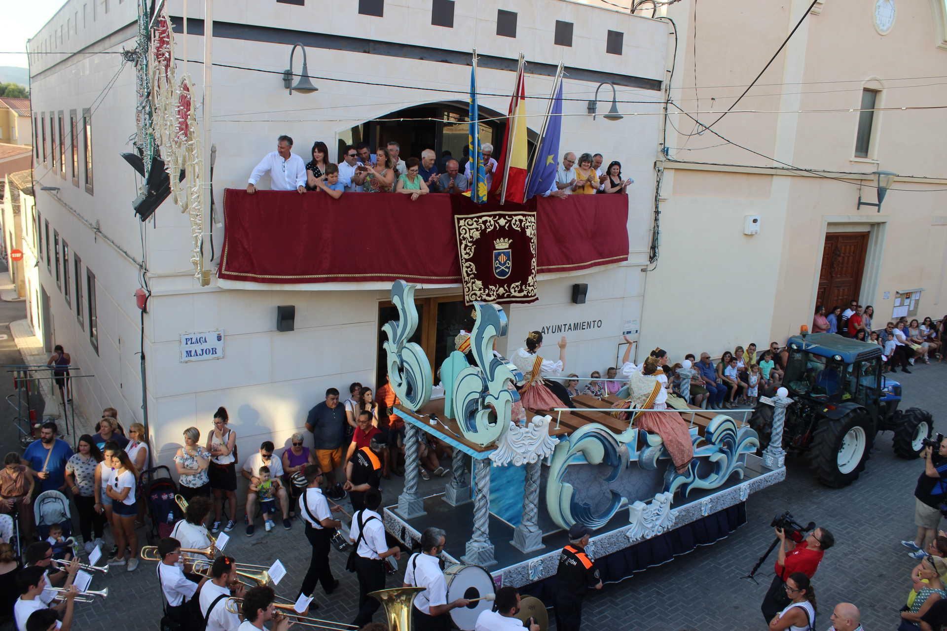 Fiestas Patronales a San Cristóbal y la Virgen del Carmen