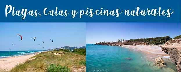 Playas, Calas y piscinas naturales