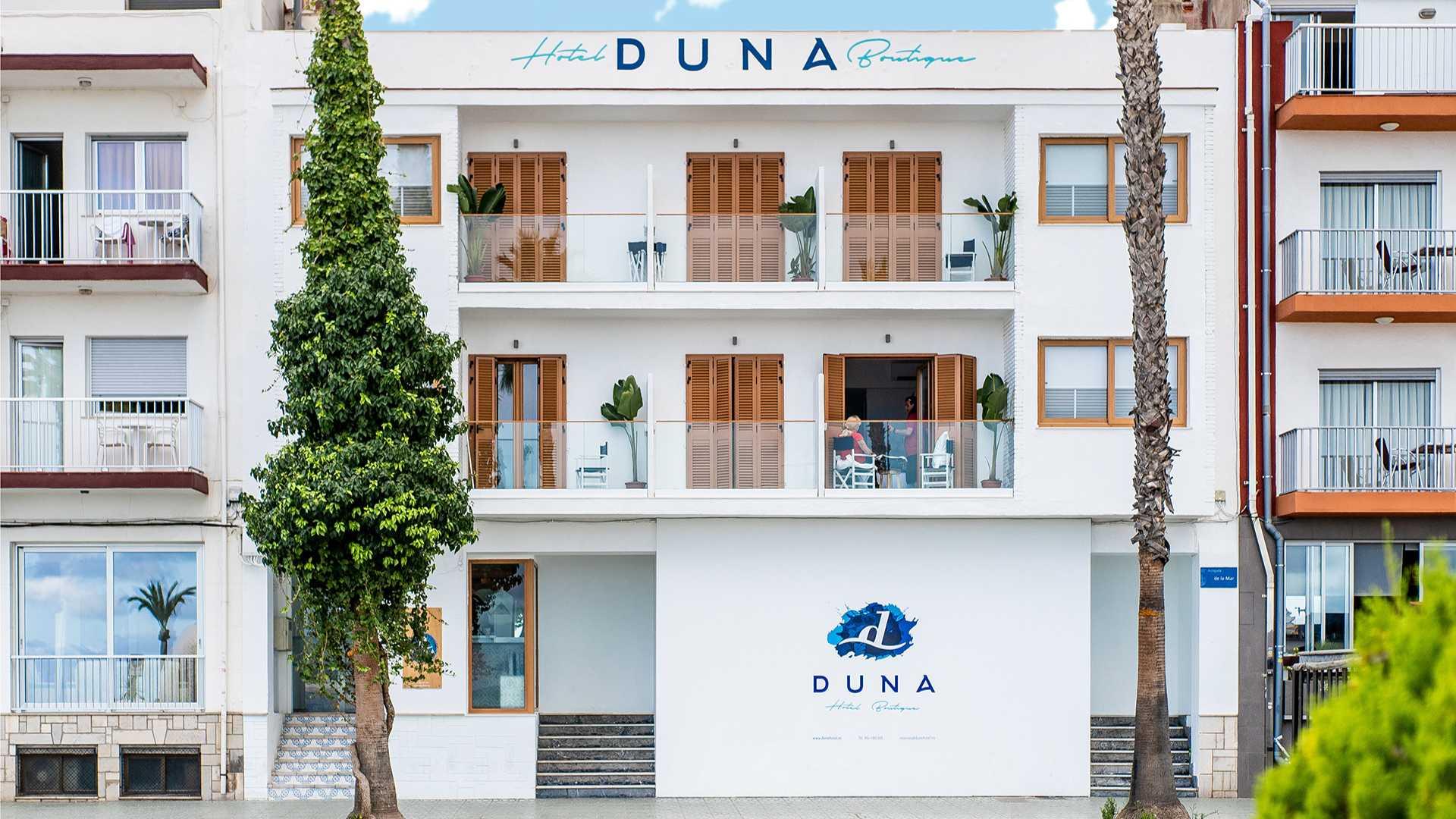 duna hotel boutique peñiscola