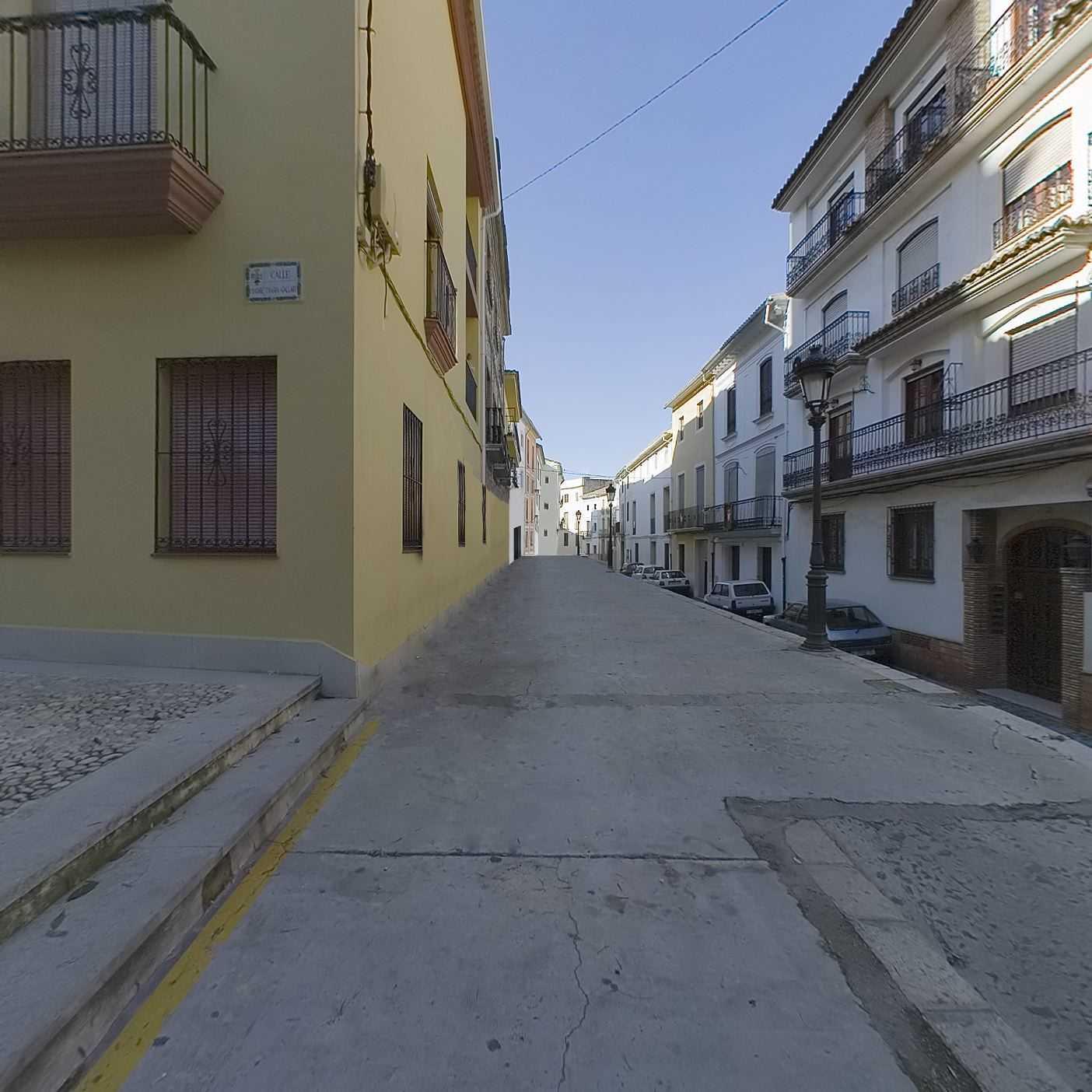 Die Straße von Les Moreres