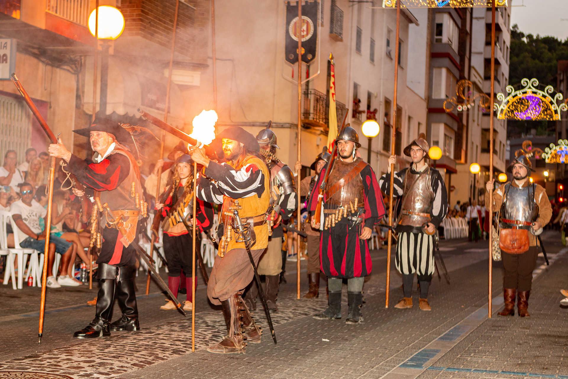 Mauren Und Christen Fest in Oliva