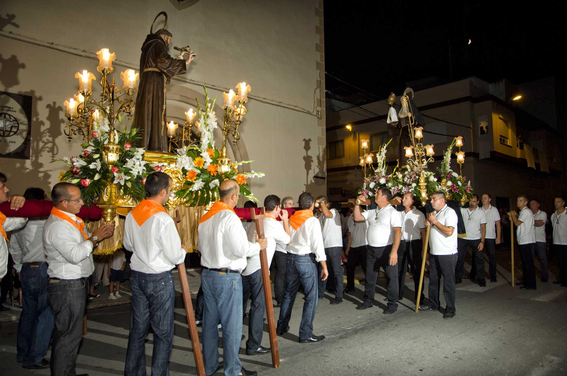 Festivity in honour of San Francisco de Asís
