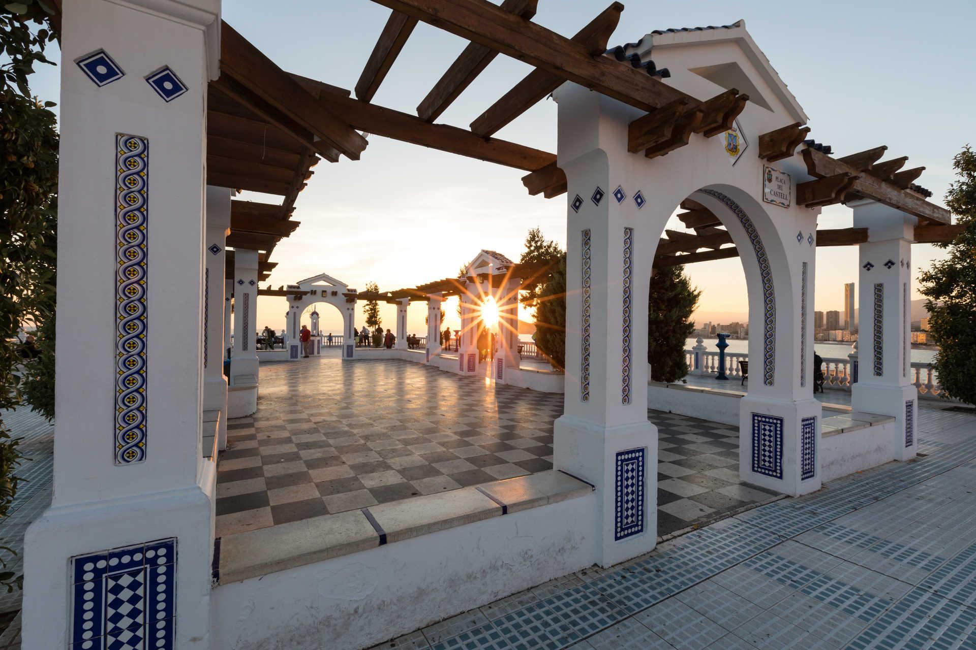 Balkon Vom Mittelmeer