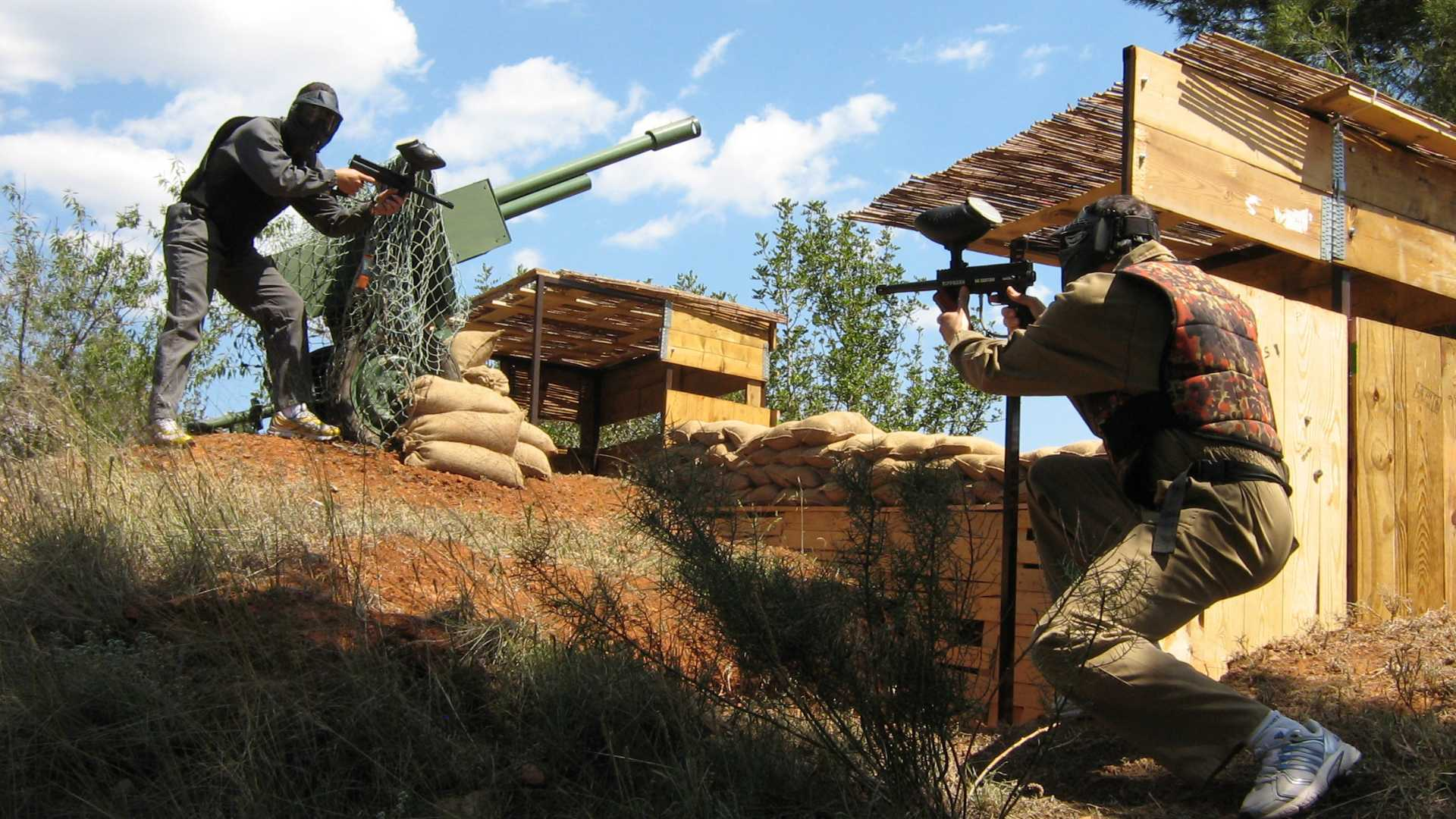 PAINTBALL POUR ADULTES
