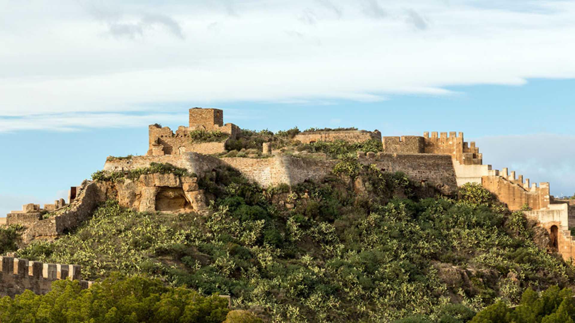 Die Burg von Sagunto