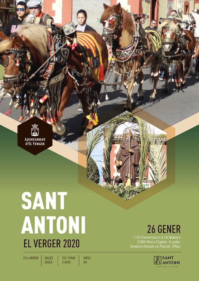 Fiesta de Sant Antoni en El Verger