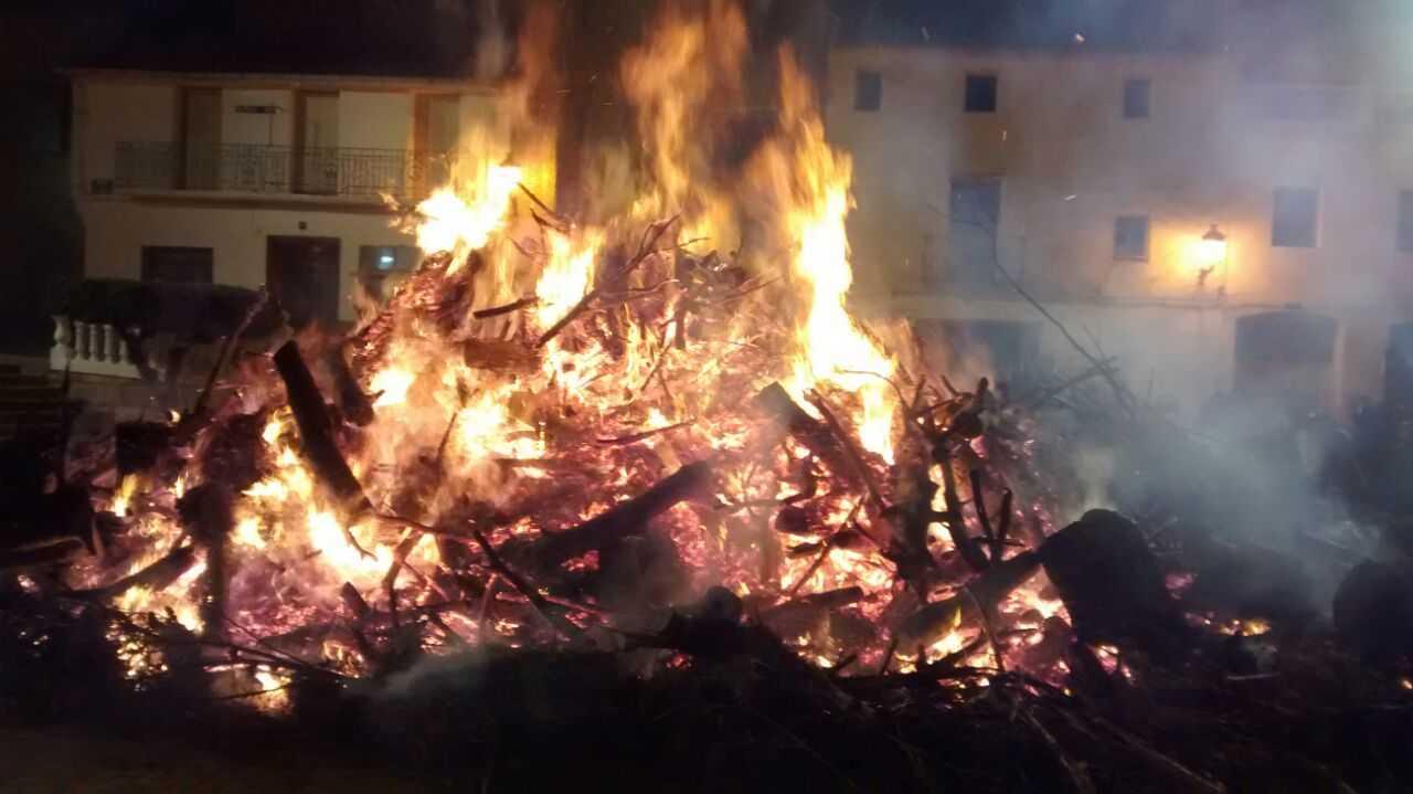 Fiestas San Antón en Navarrés