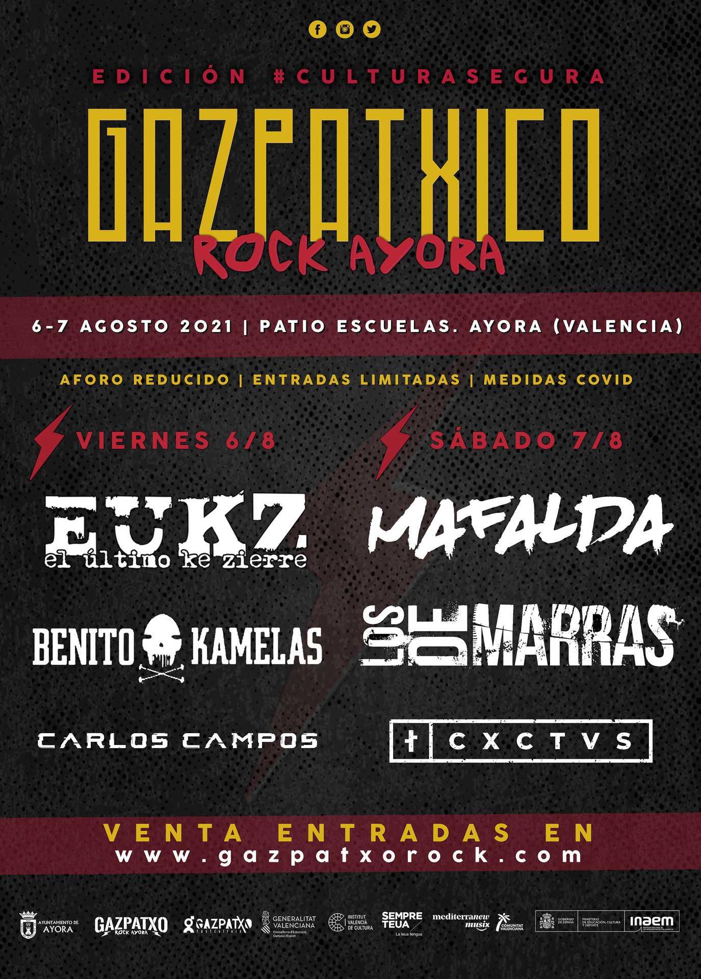 Festival Gazpatxico Rock en Ayora