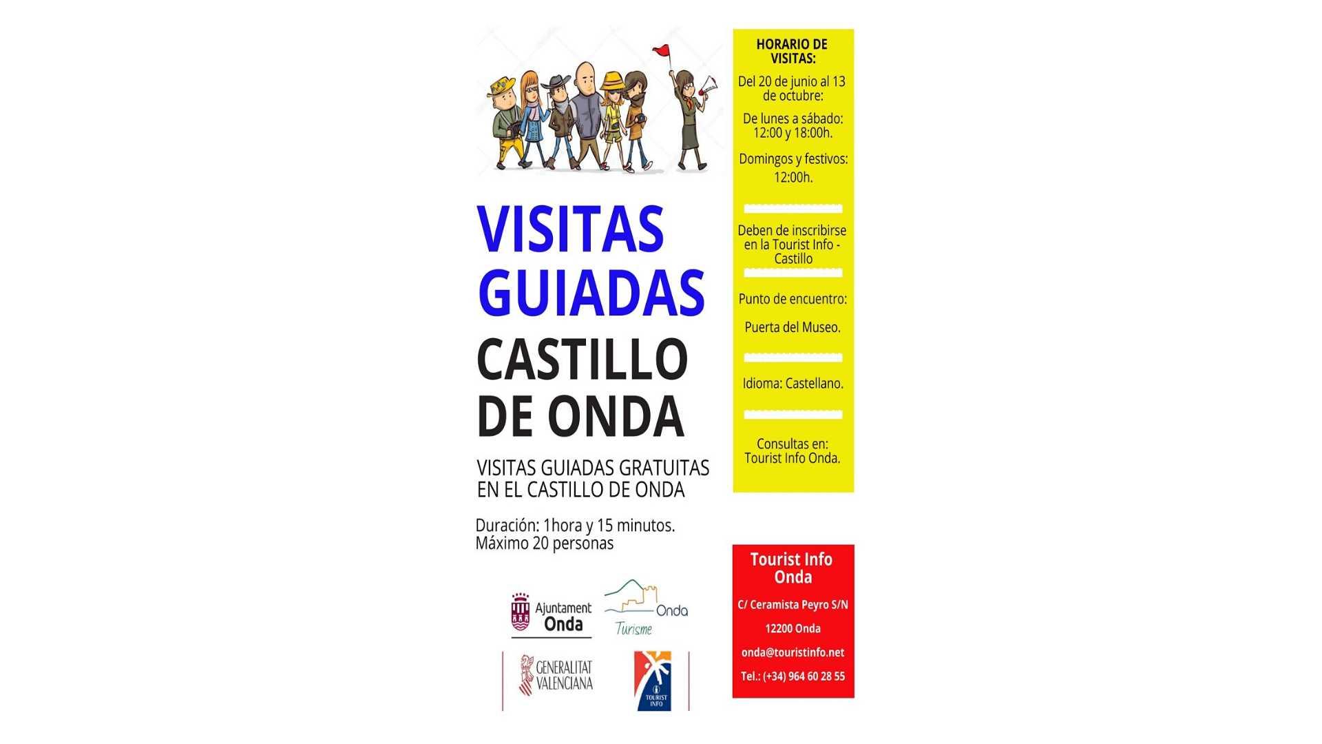 Visites guidées du château d'Onda