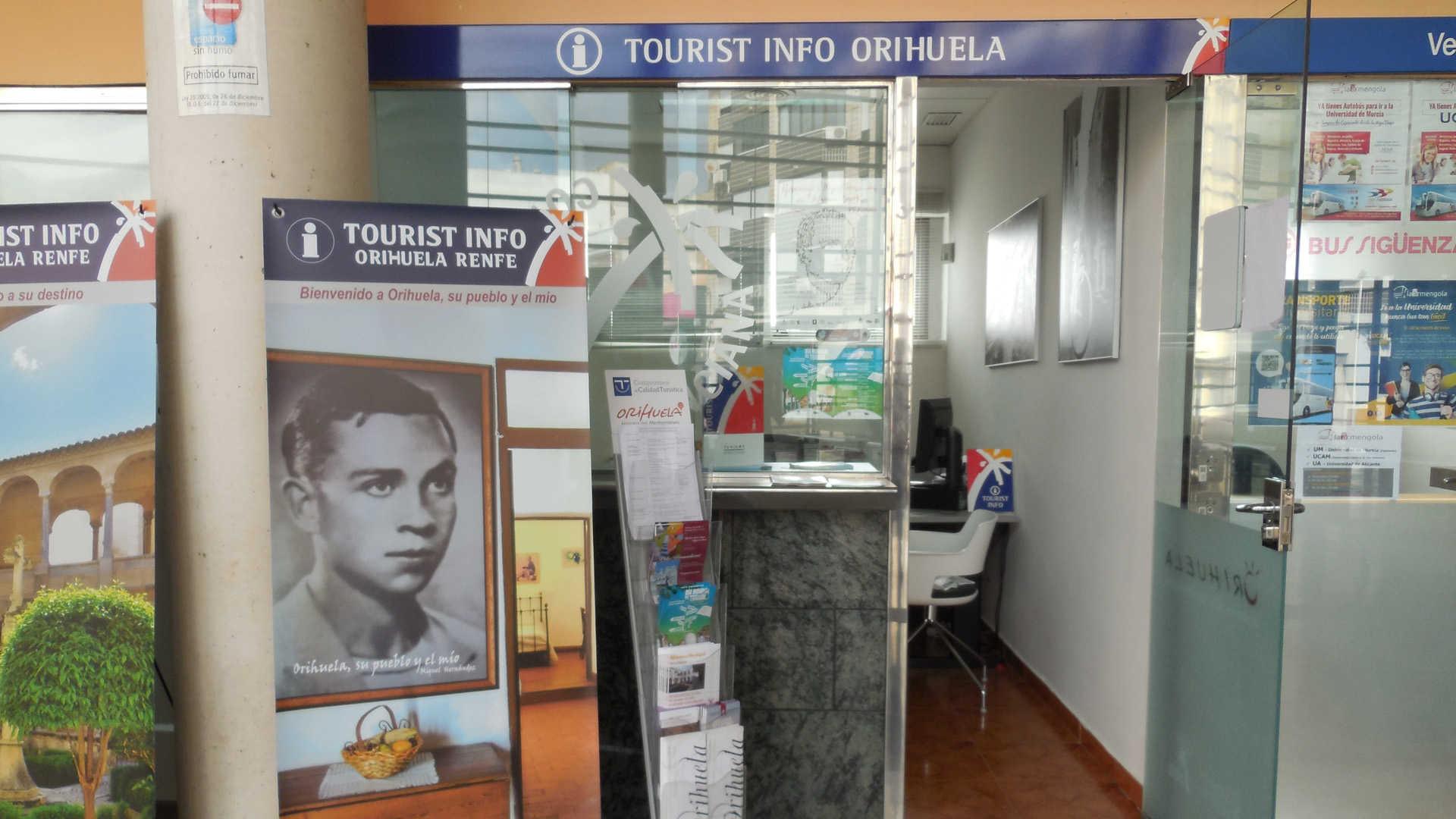TOURIST INFO ORIHUELA - RENFE