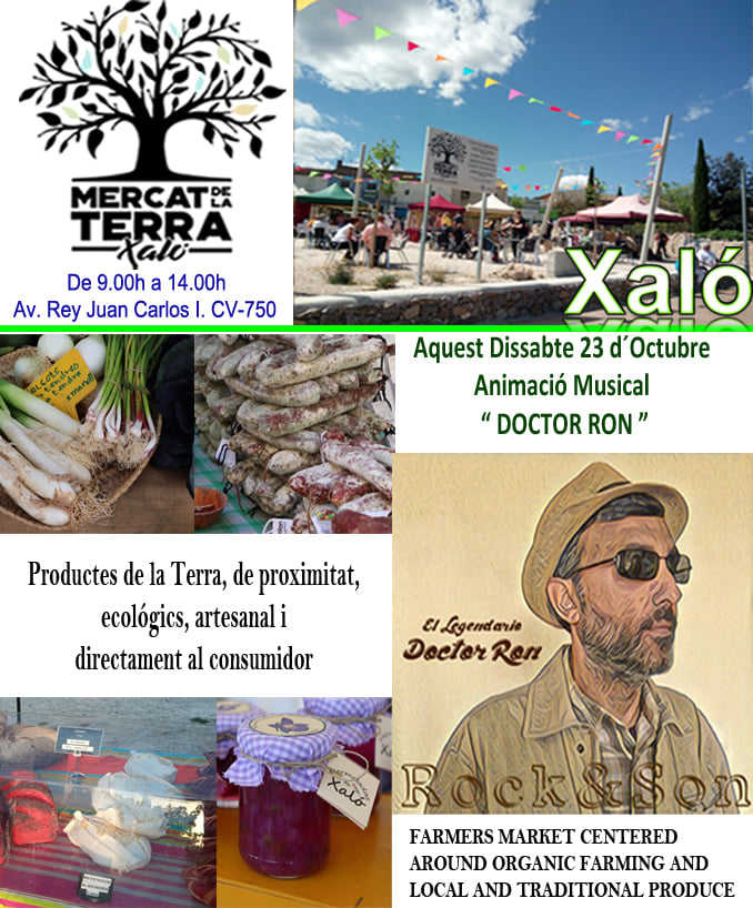 Mercat de la Terra (Farmer's Market)  in Xaló