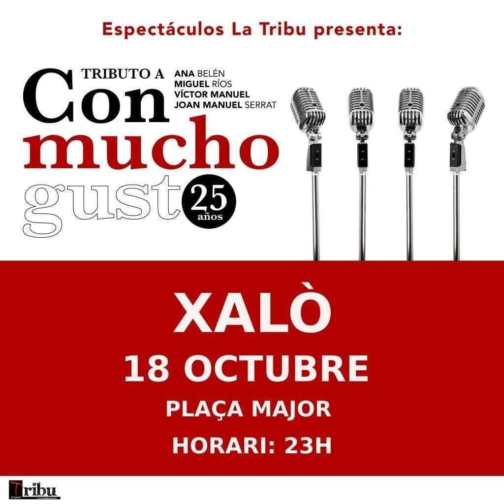 'Con Mucho Gusto' La Tribu - Concierto en Xaló