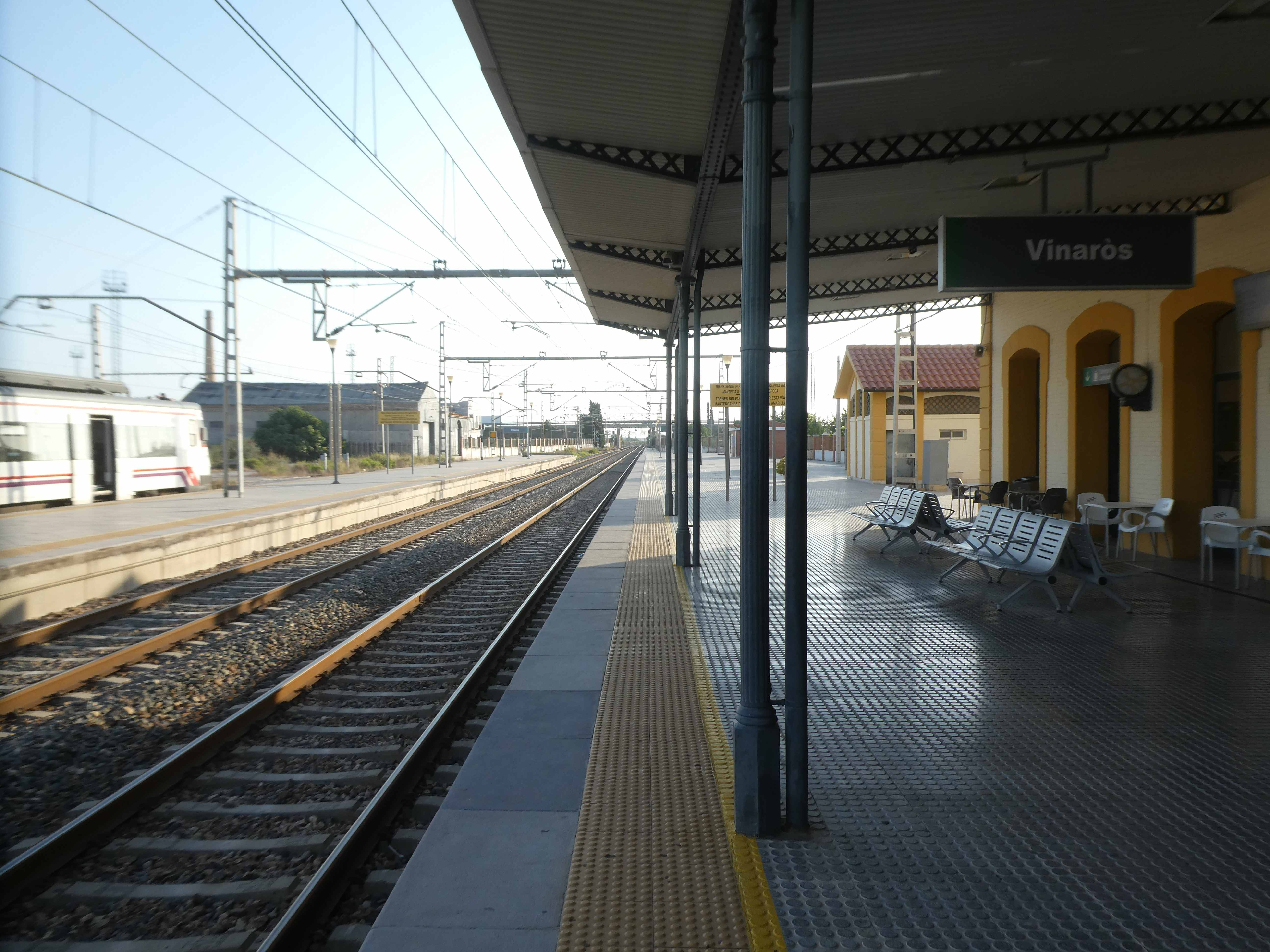 Estación de tren de Vinaròs