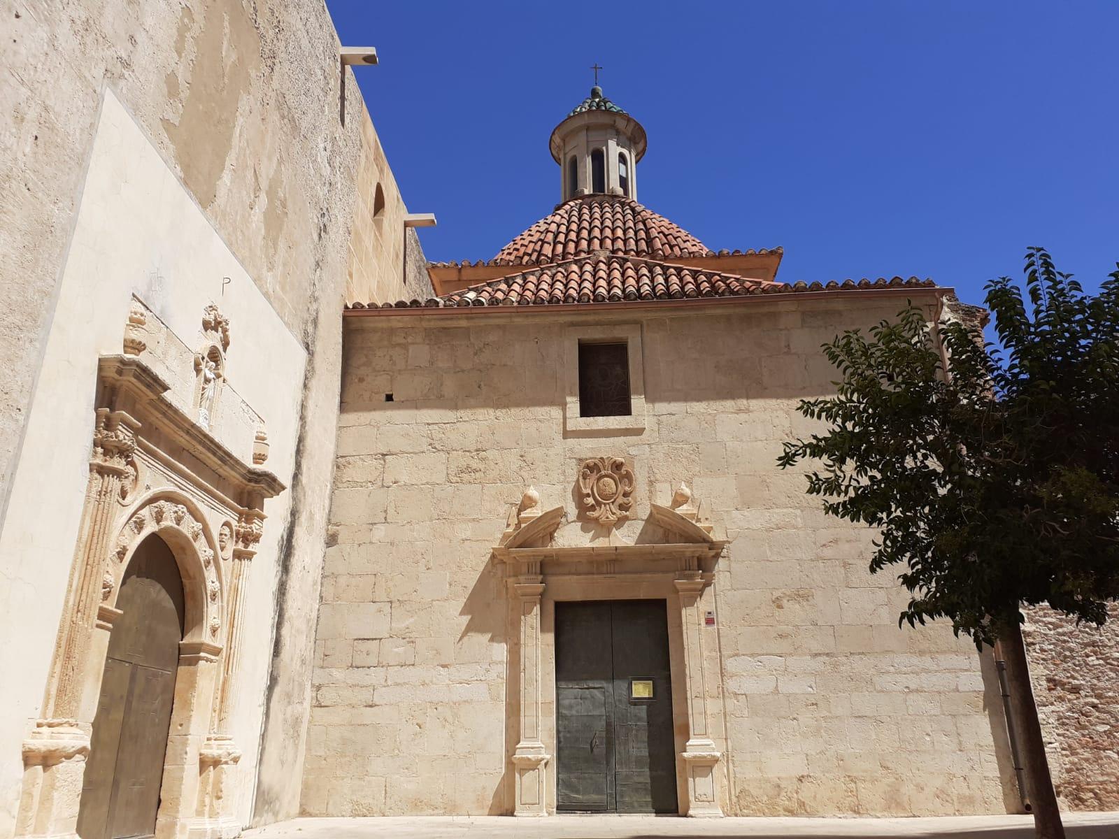Capilla de la comunión de la Iglesia de Nuestra Señora de la Asunción