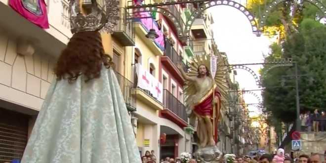 Procession of Xiulitets and La Gloria