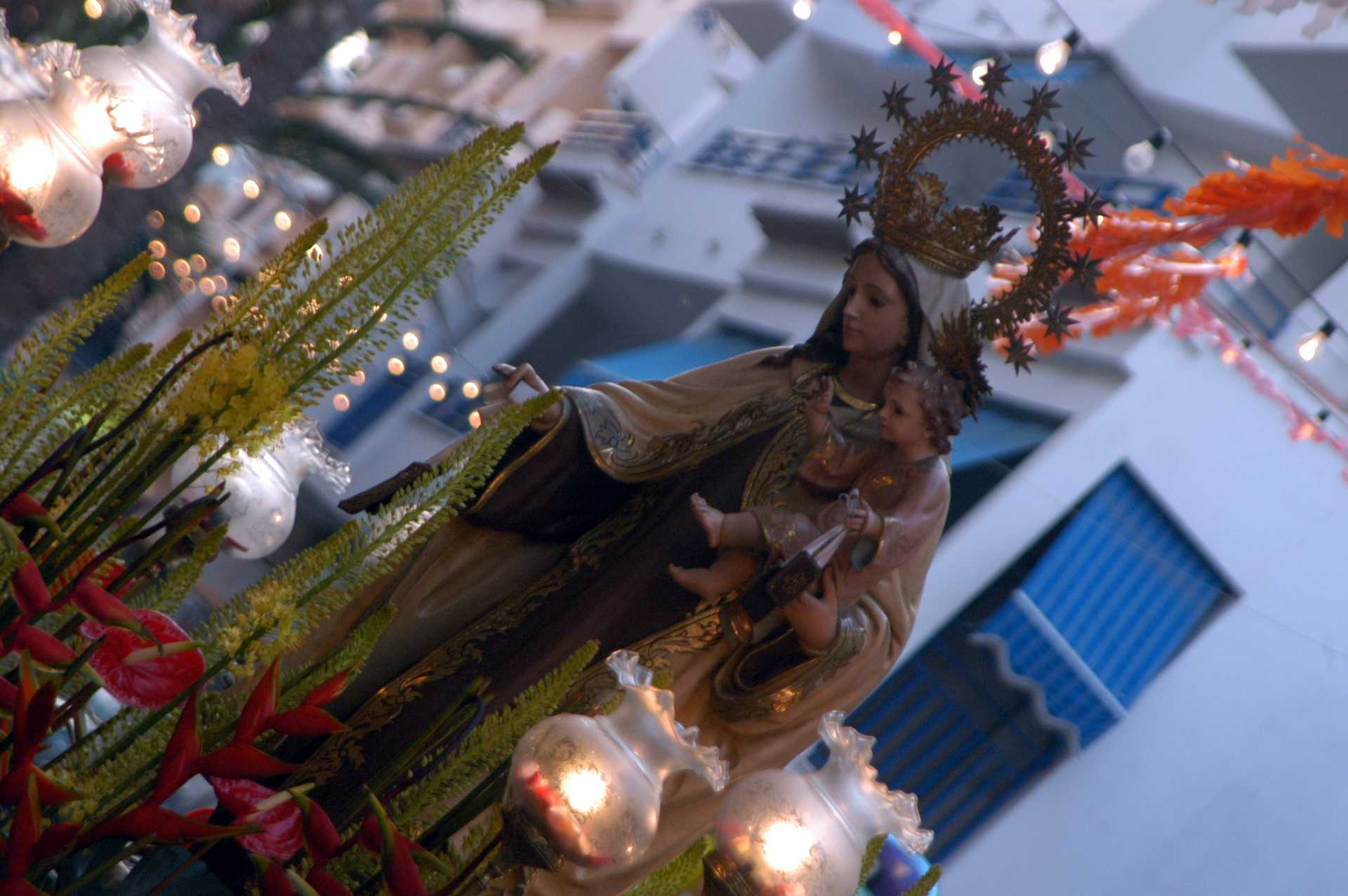 PATRON SAINT FESTIVITIES IN HONOUR OF VIRGEN DE LOS DESAMPARADOS AND VIRGEN DEL CARMEN