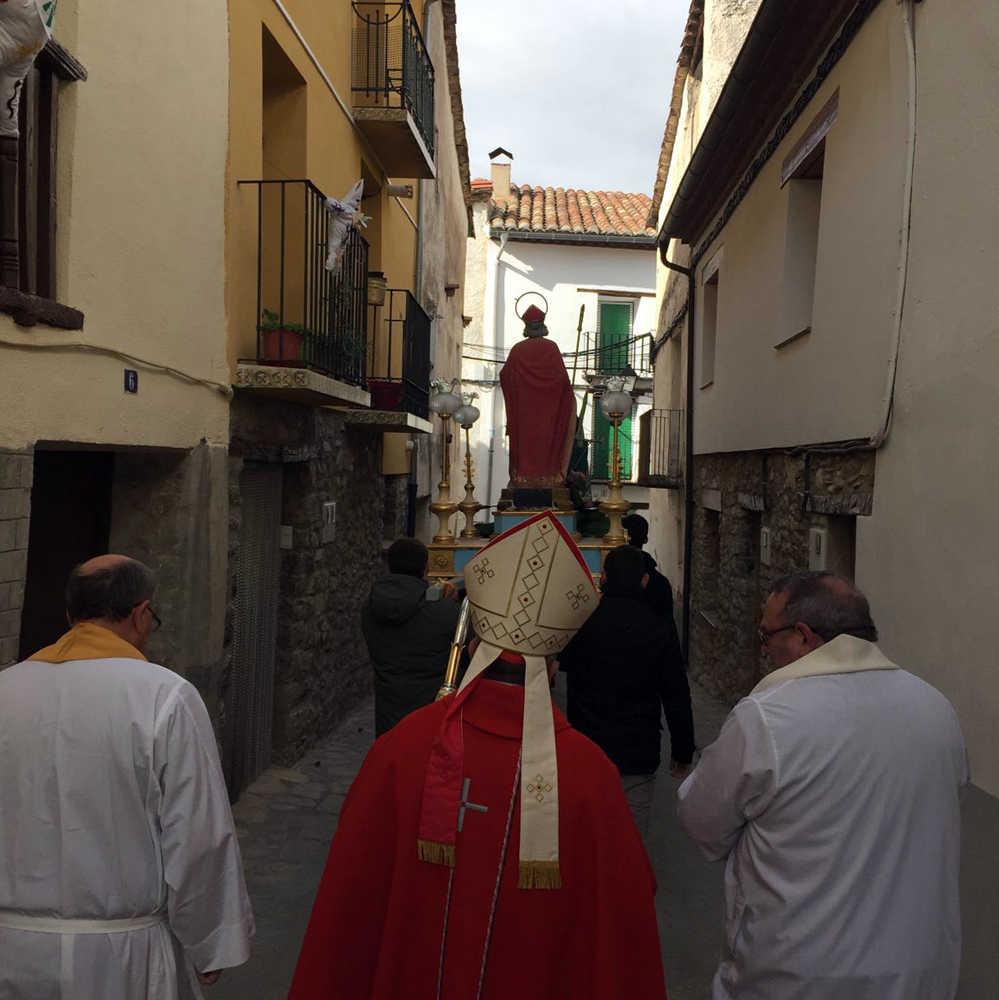 Festivité de San Blas à Ortells