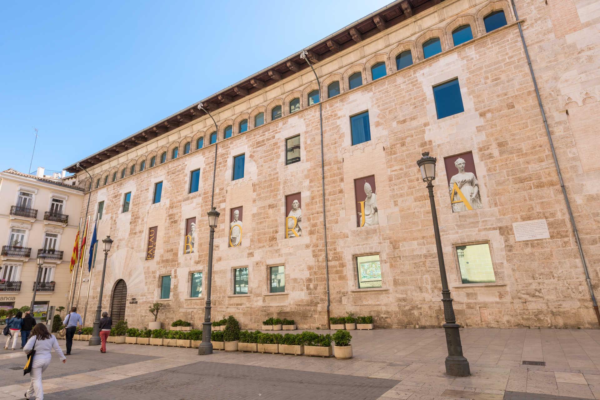 Palacio de Benicarló. Sede de las Cortes Valencianas