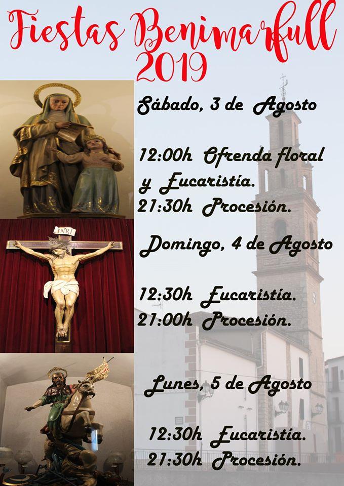 Fiestas Patronales de Moros y Cristianos de Benimarfull