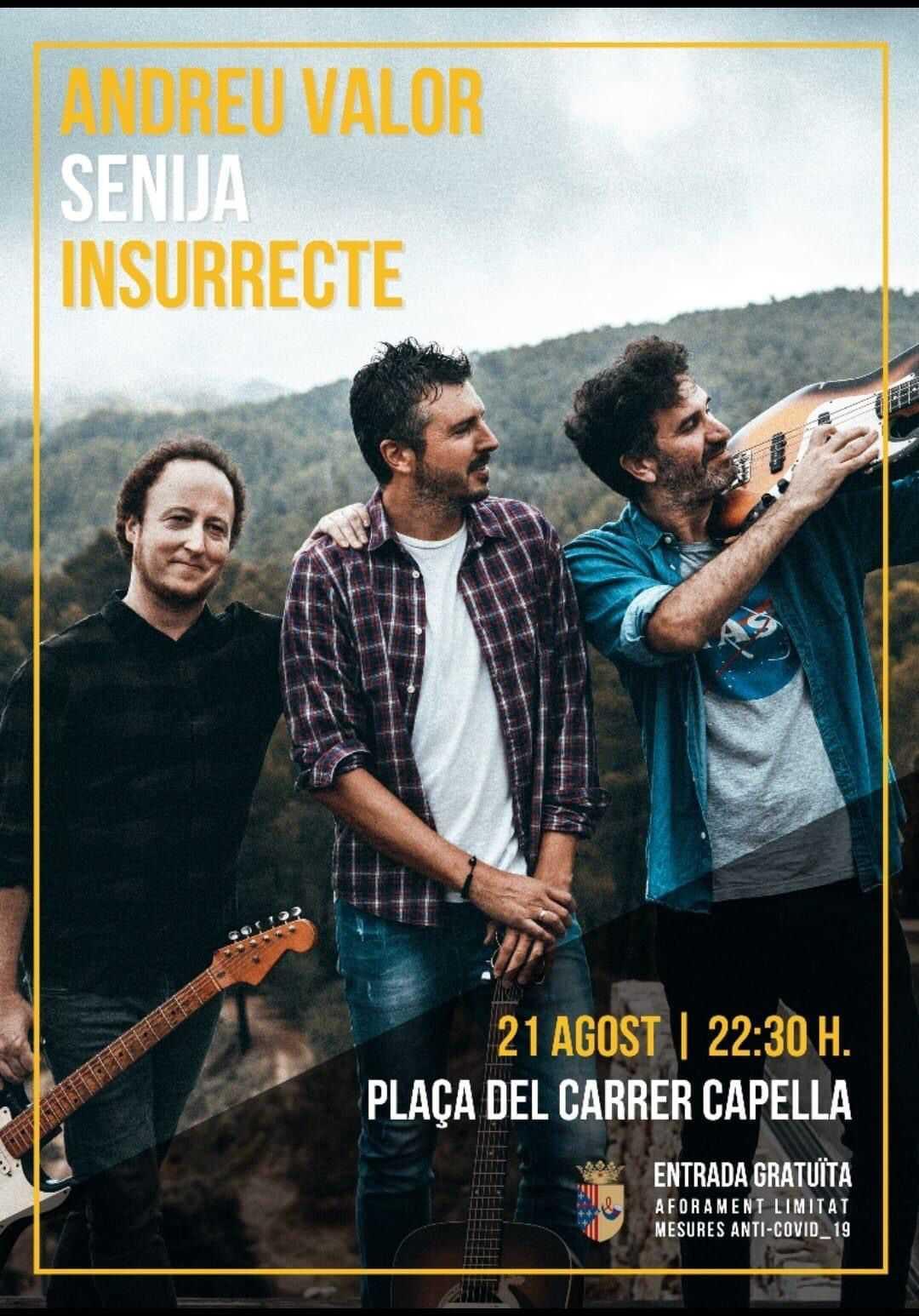 Andreu Valor 'Insurrecte' - Concert a Senija