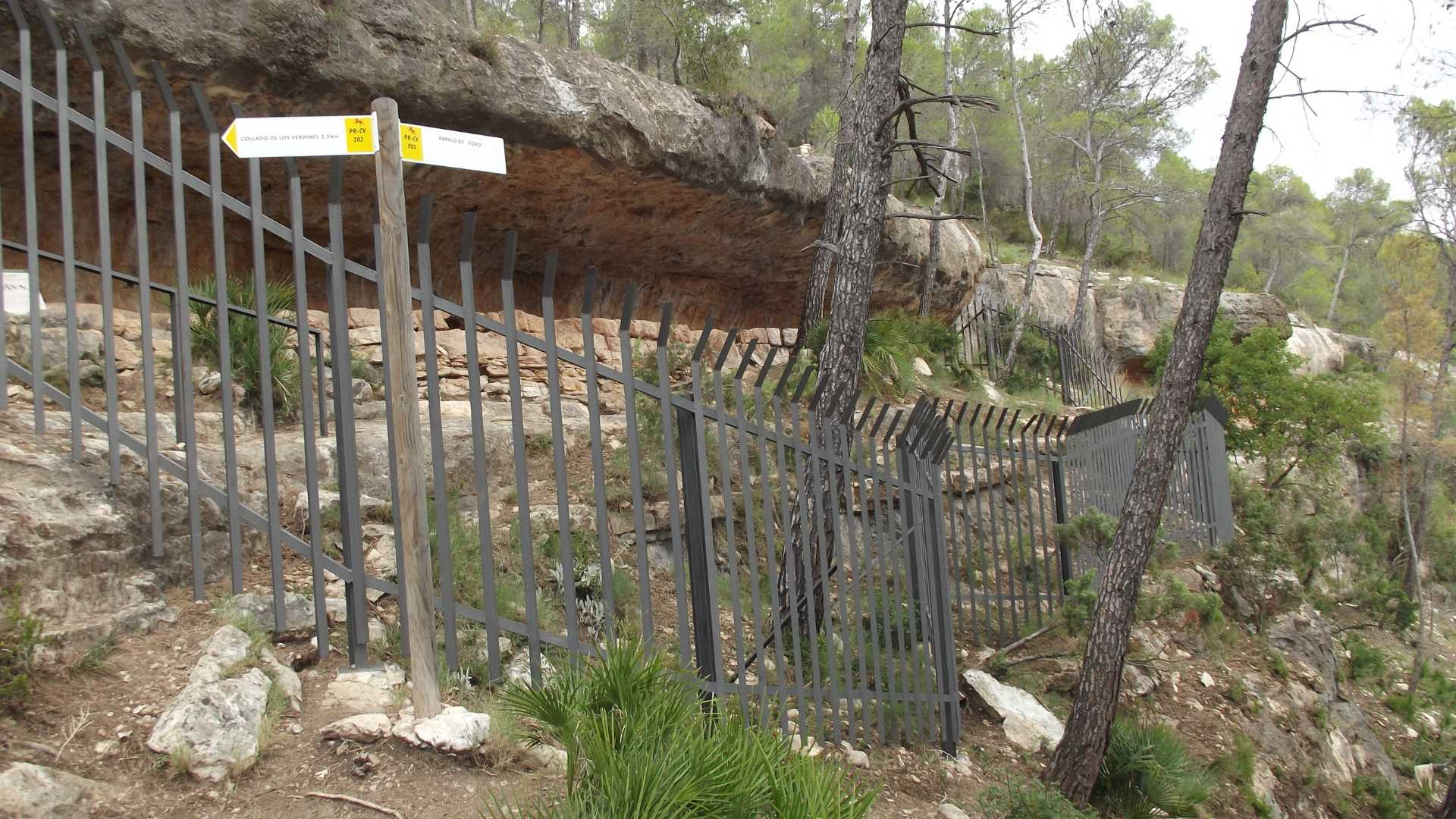 Abri-sous-roche de Voro
