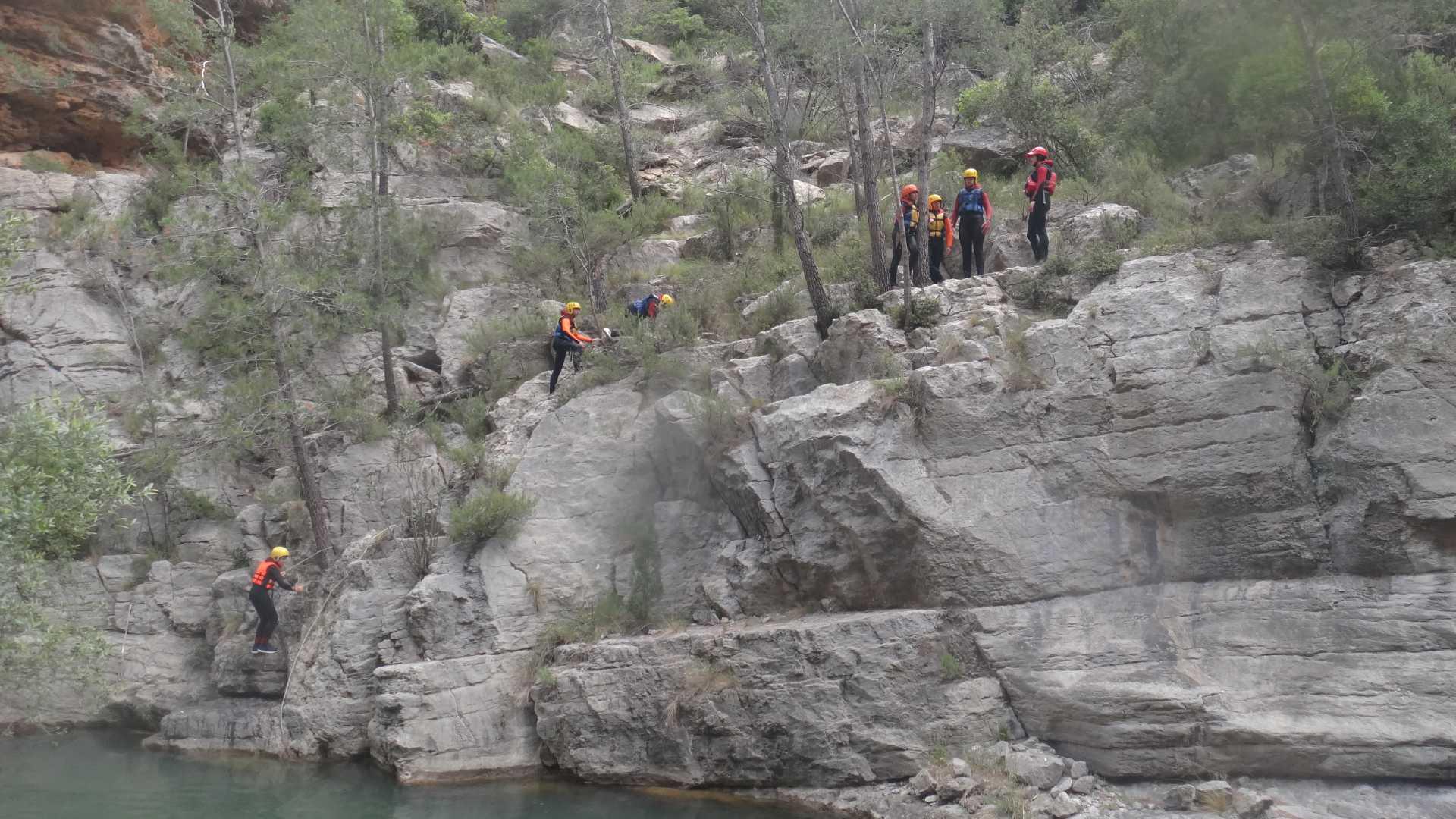 Canyoning mit Seilbahn